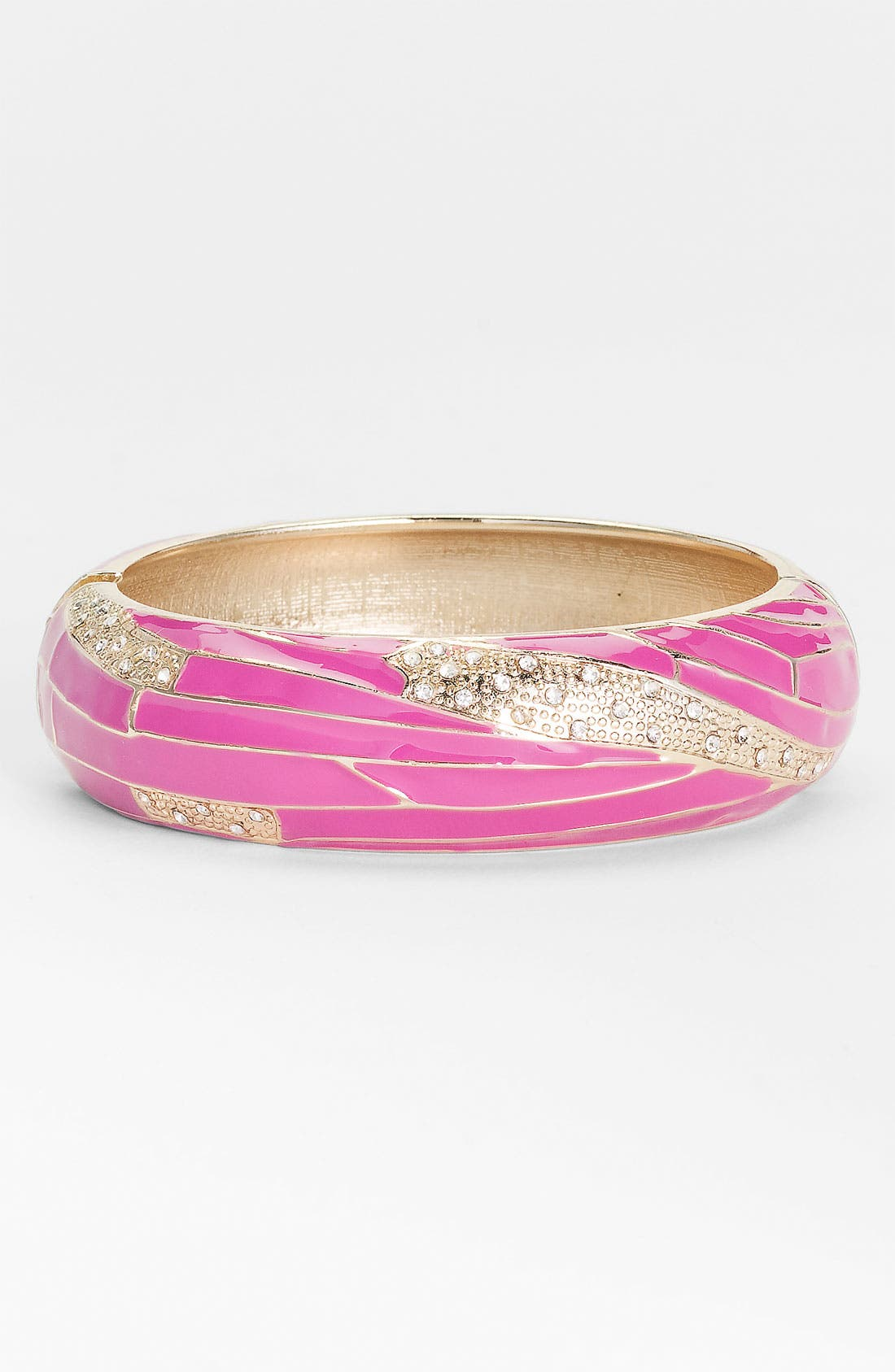 Large Insect Wing Enamel Bangle,                             Main thumbnail 12, color,