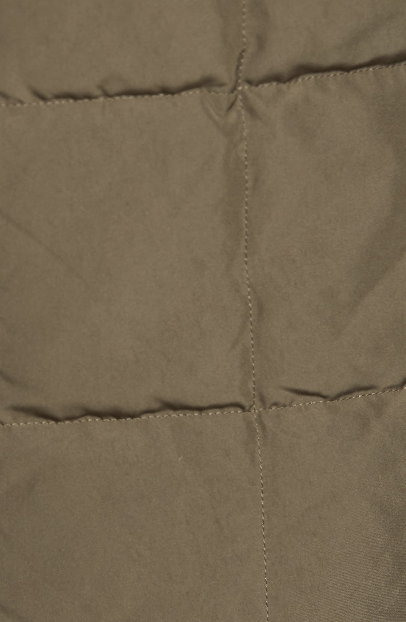 Quilted Down Field Jacket with Stowaway Hood,                             Alternate thumbnail 11, color,