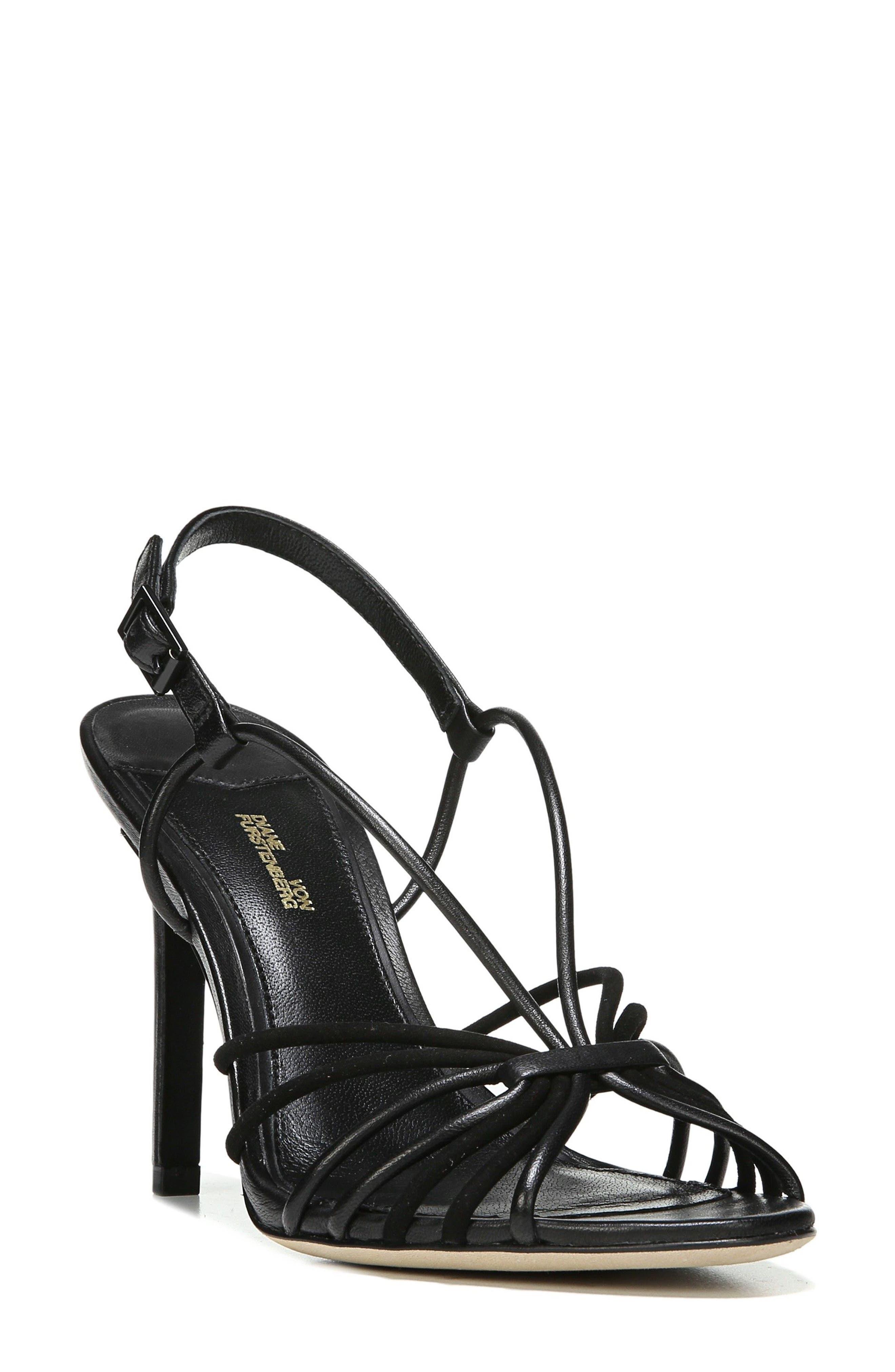 Milena Slingback Sandal,                         Main,                         color, 001
