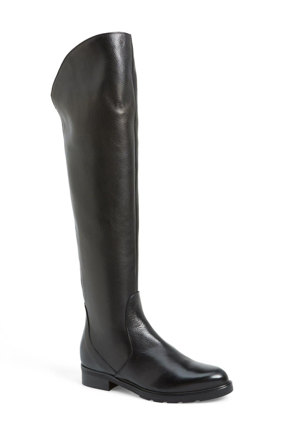 'Berenson' Elastic Back Over the Knee Boot, Main, color, 002