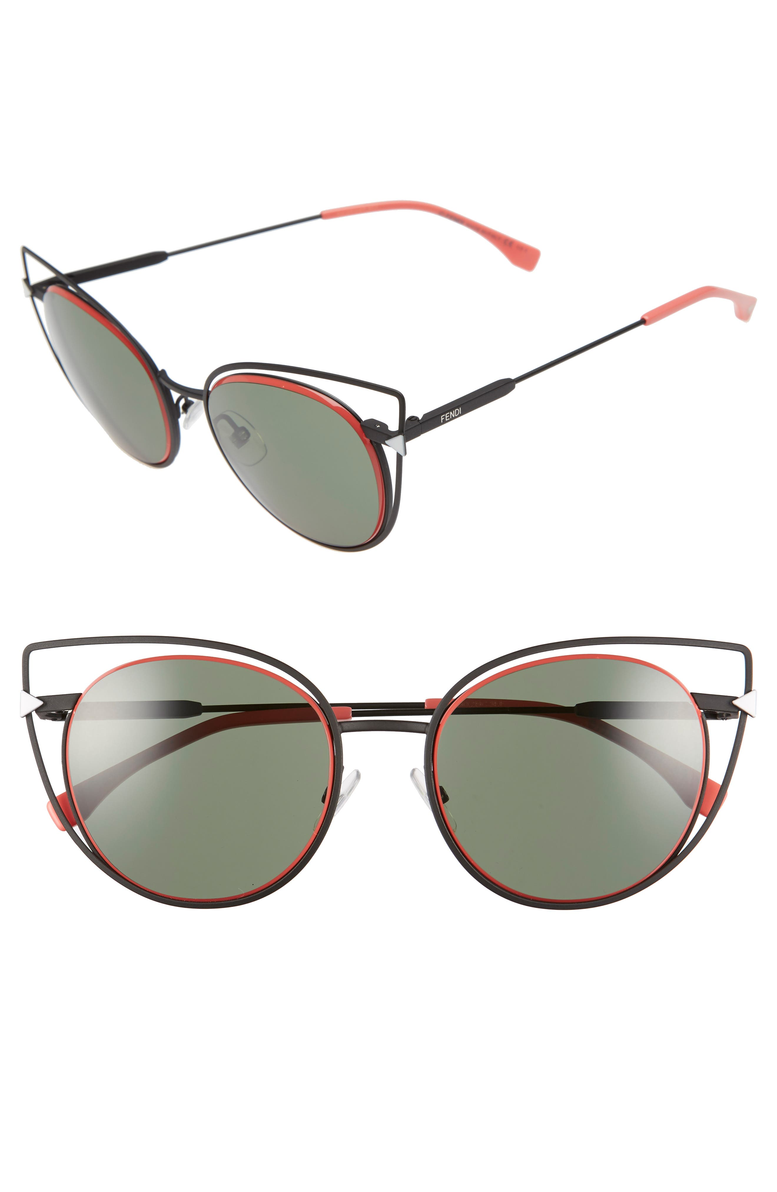 53mm Sunglasses,                             Alternate thumbnail 5, color,