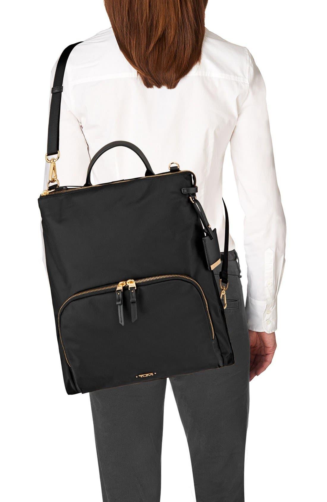 Voyageur - Jackie Convertible Crossbody Bag,                             Alternate thumbnail 5, color,                             001