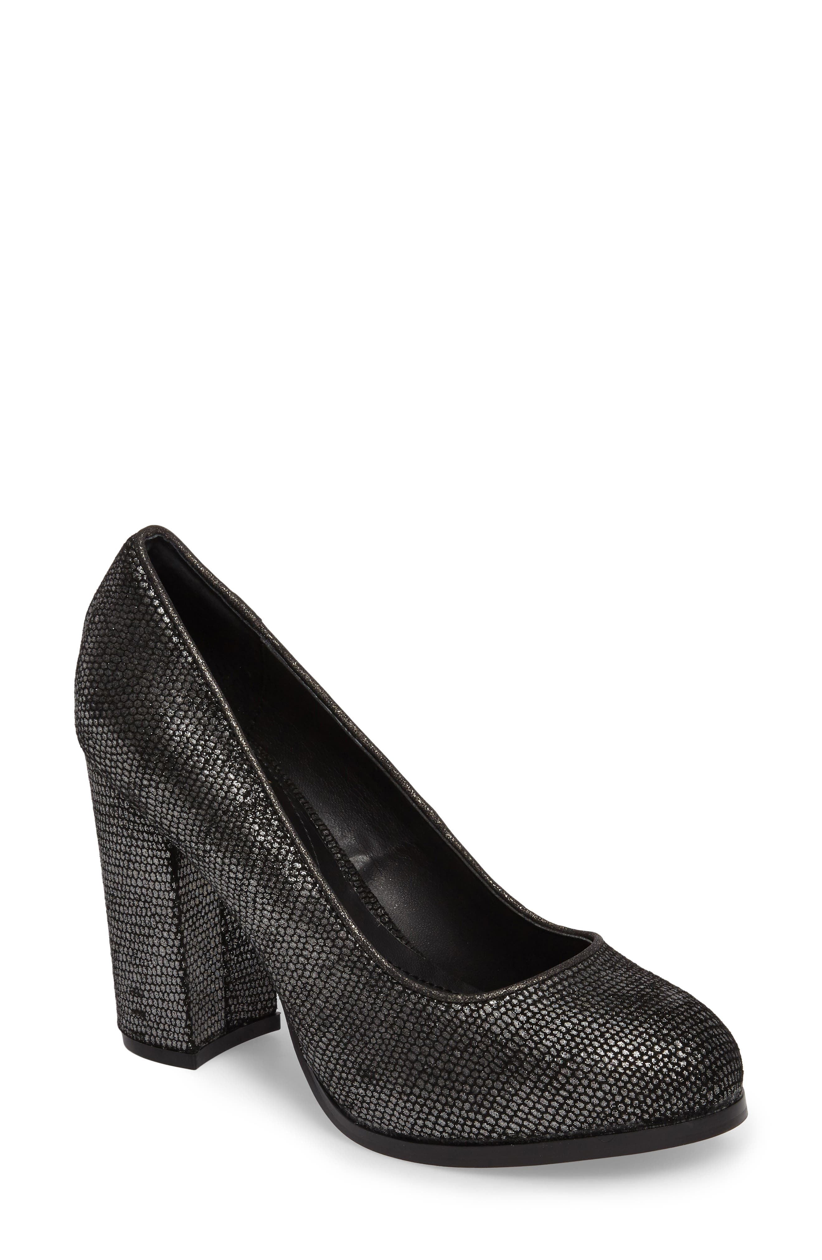 Hayley Pump,                         Main,                         color, PEWTER FABRIC