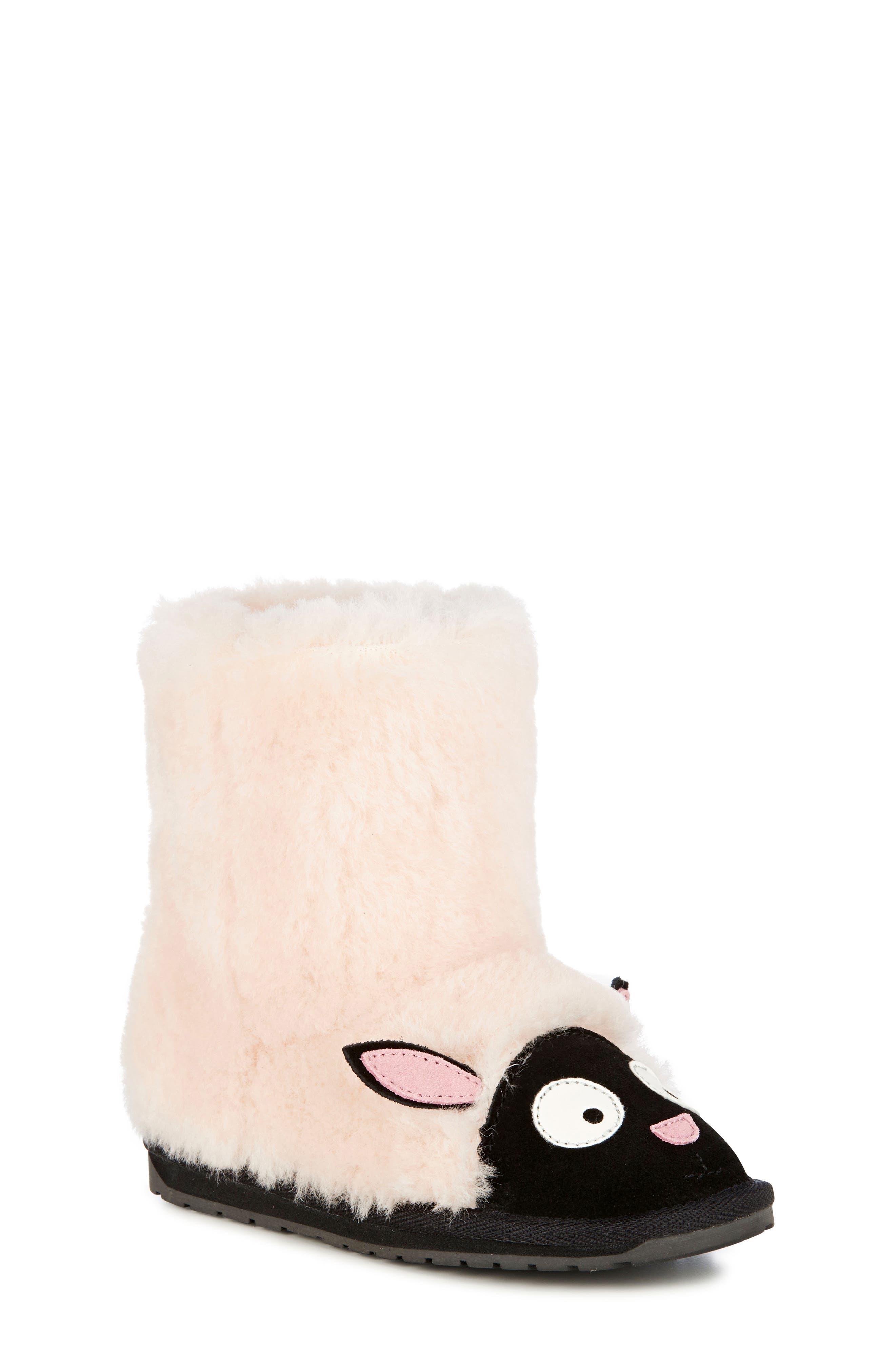 Little Creatures - Lamb Boot,                             Main thumbnail 1, color,                             NATURAL