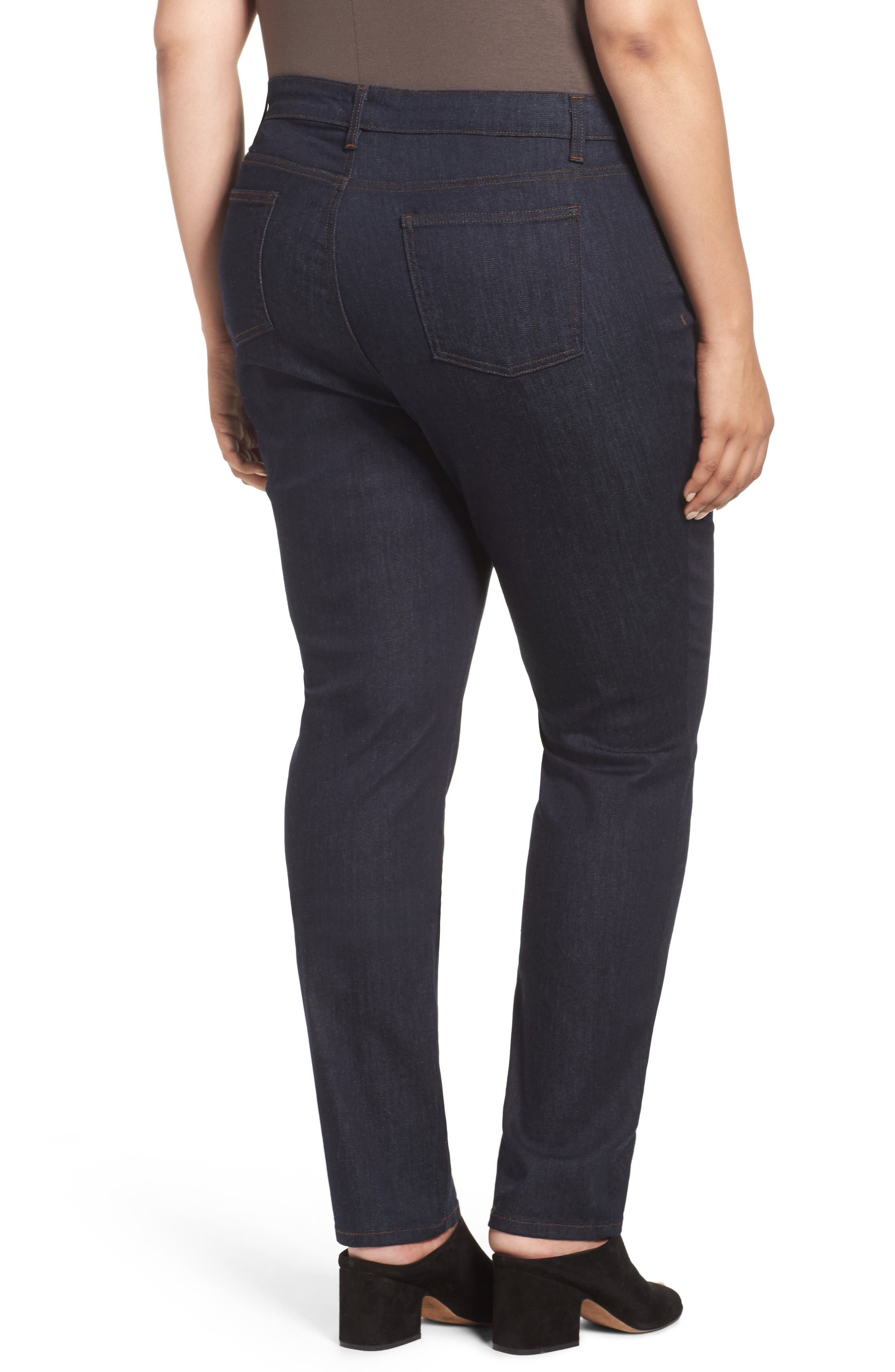 Organic Cotton Stretch Skinny Jeans,                             Alternate thumbnail 2, color,                             402