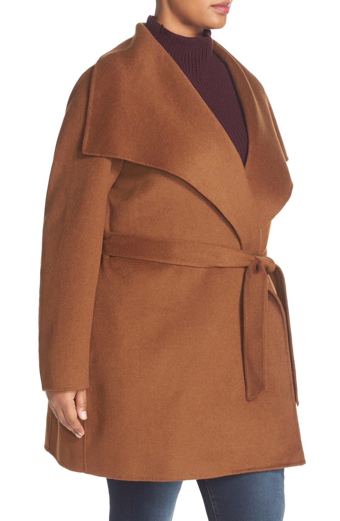 'Ella' Wrap Coat,                             Alternate thumbnail 10, color,