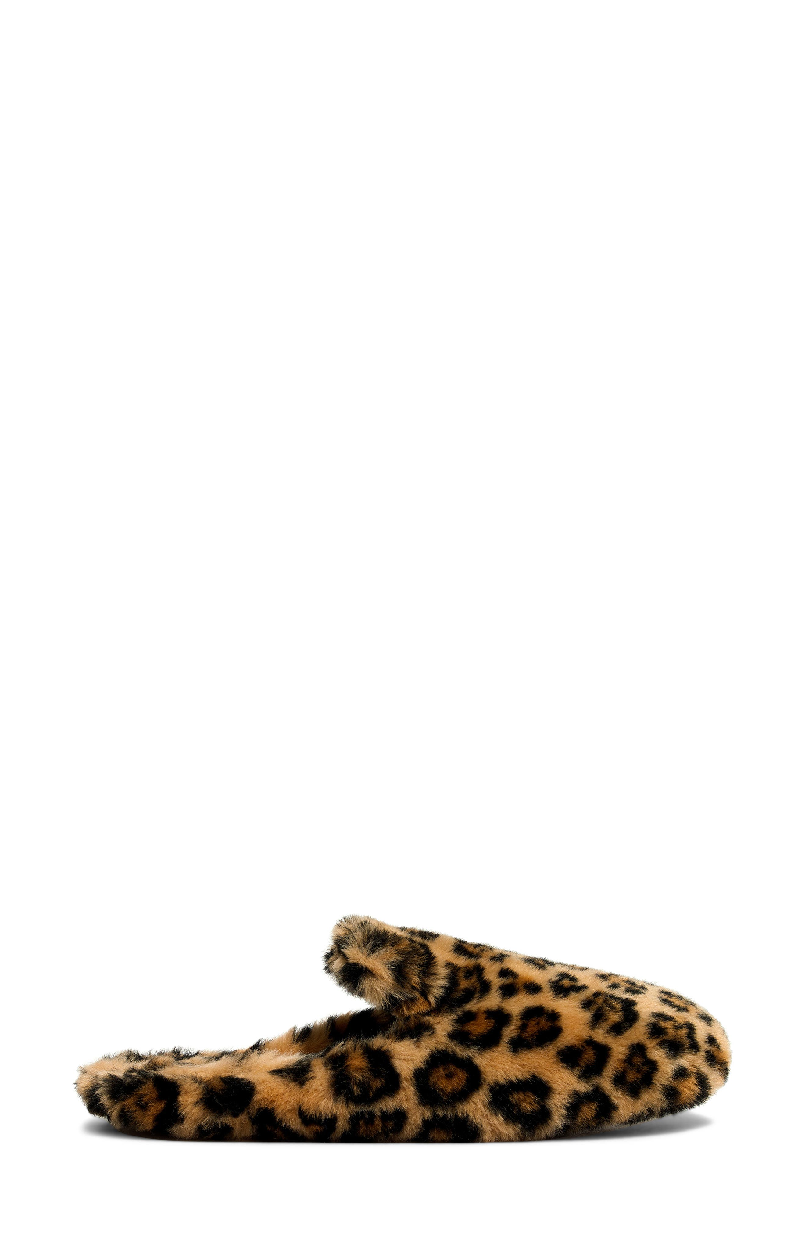 Loafer Scuff Slipper,                             Alternate thumbnail 3, color,                             LEOPARD