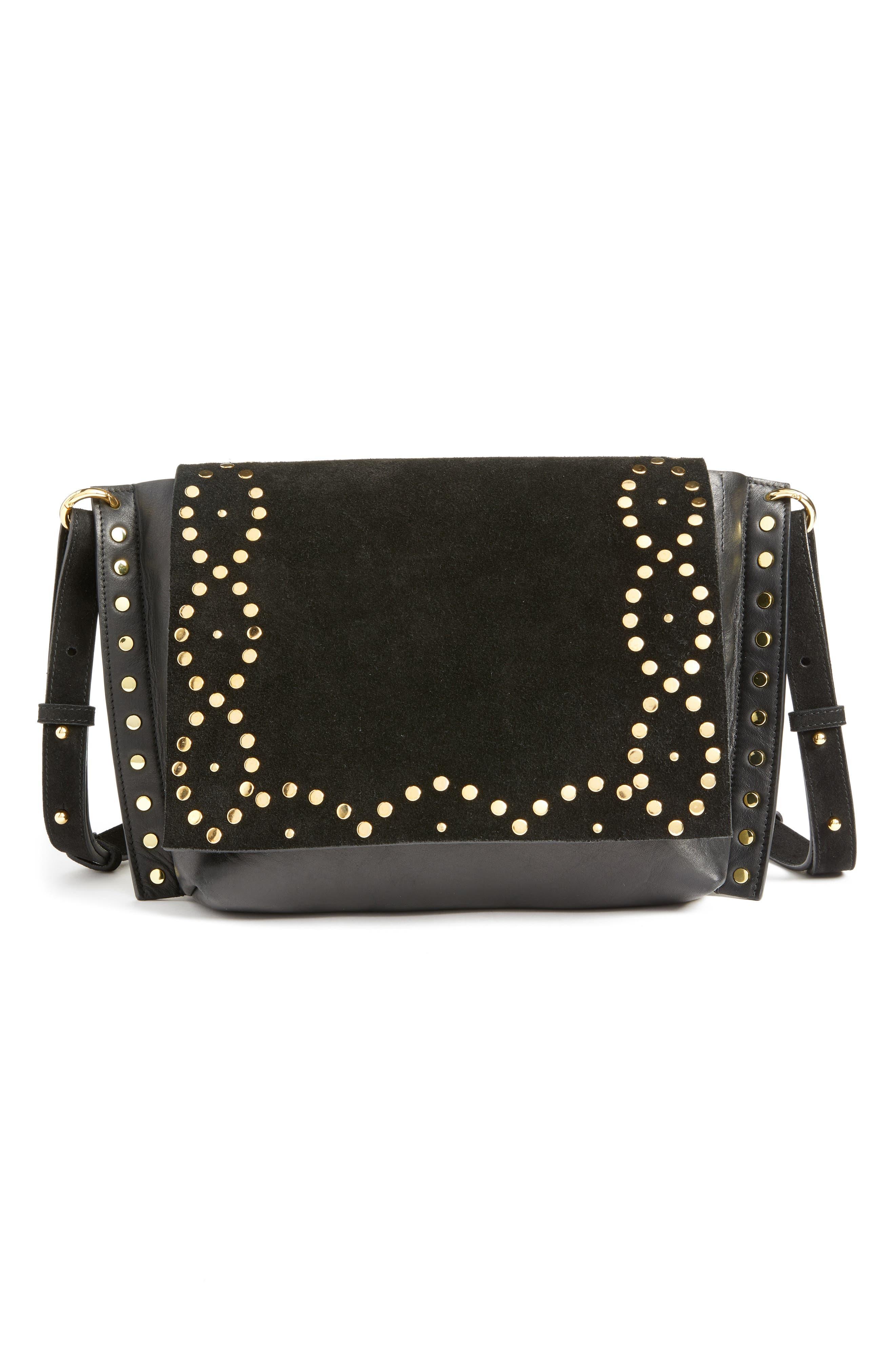 Asli Zoe Studded Shoulder Bag,                         Main,                         color,