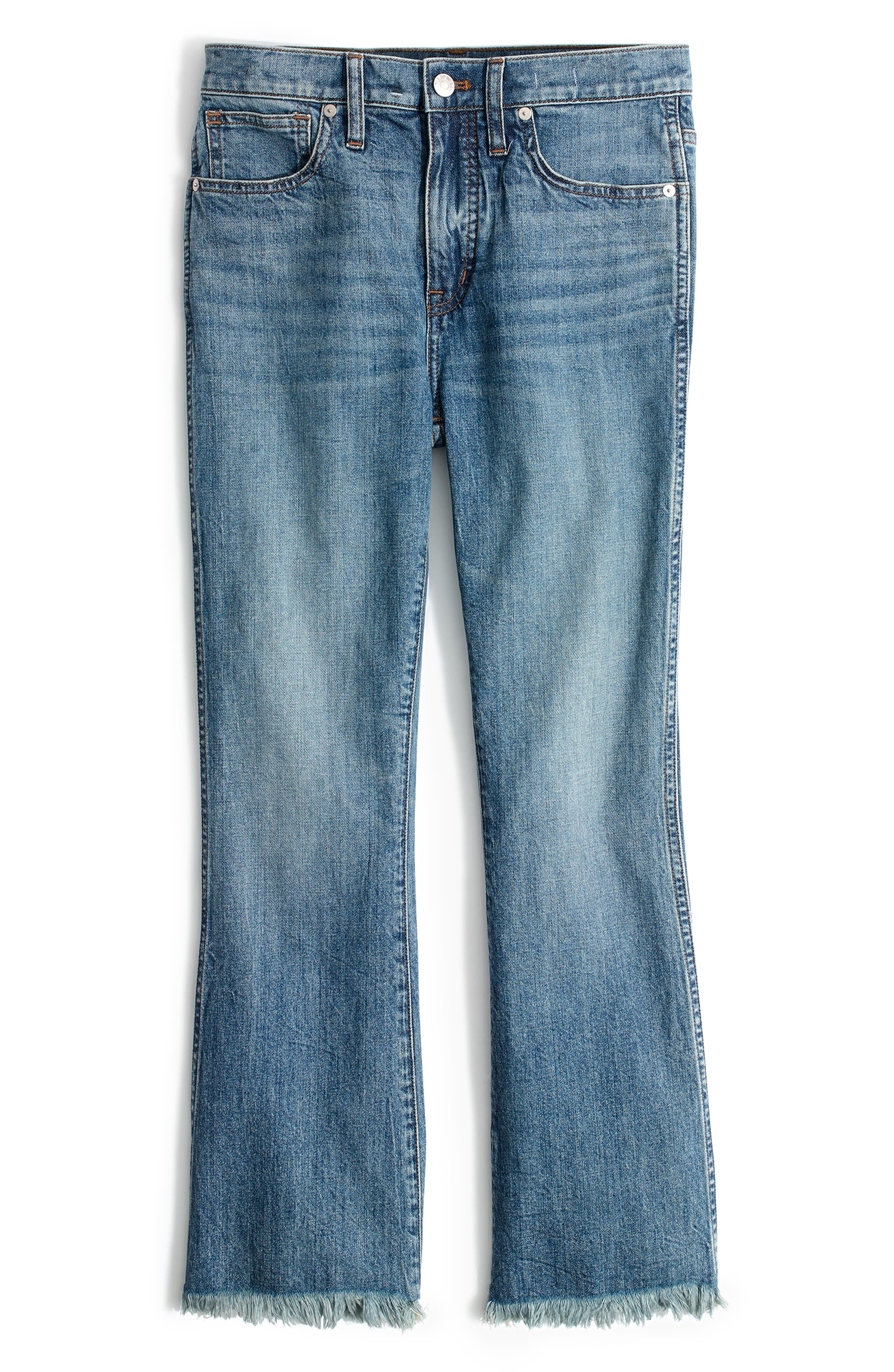 Cali Demi Boot Jeans,                             Alternate thumbnail 6, color,                             HENEY