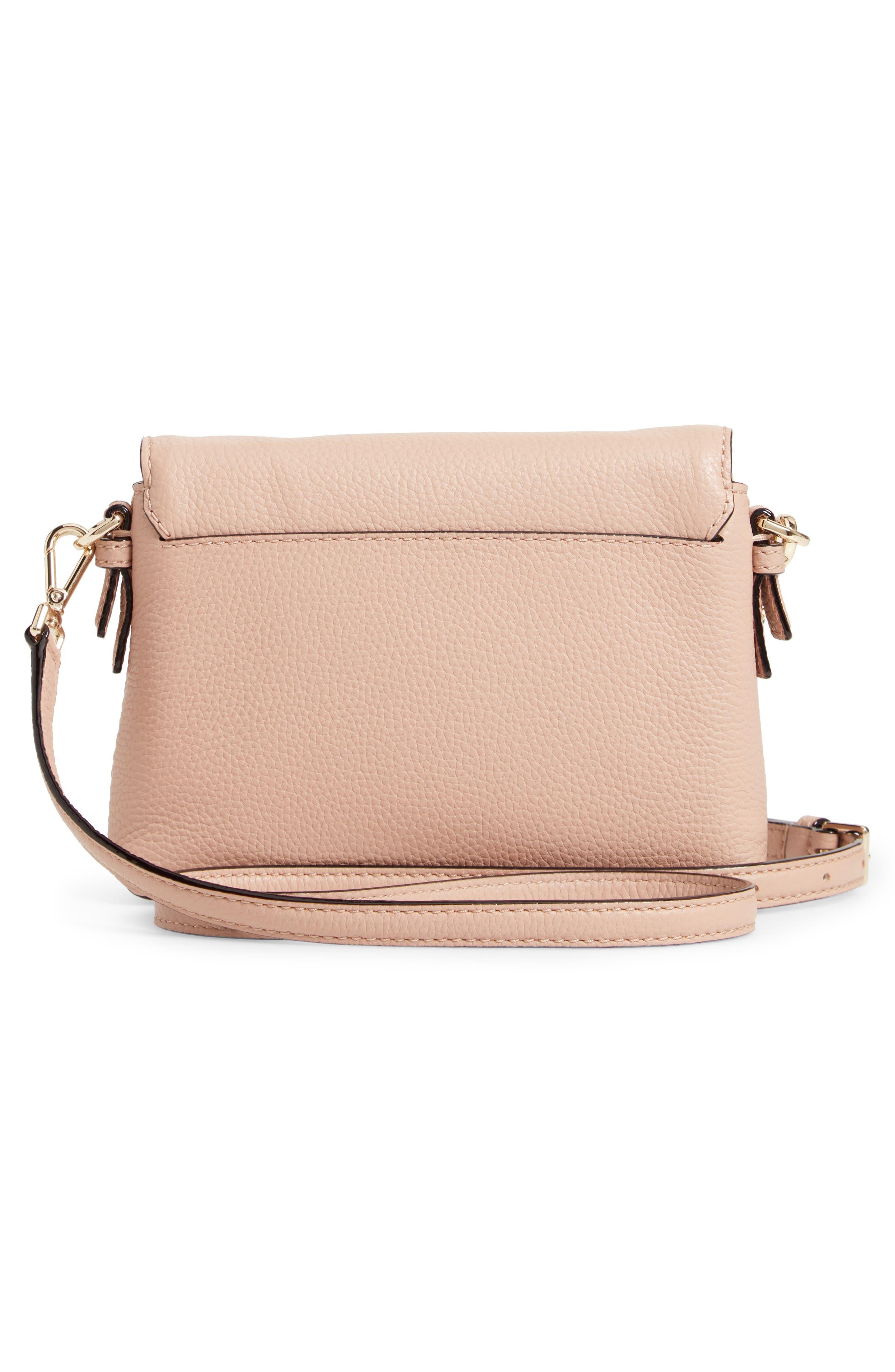 KATE SPADE NEW YORK,                             jackson street small harlyn leather crossbody bag,                             Alternate thumbnail 3, color,                             253