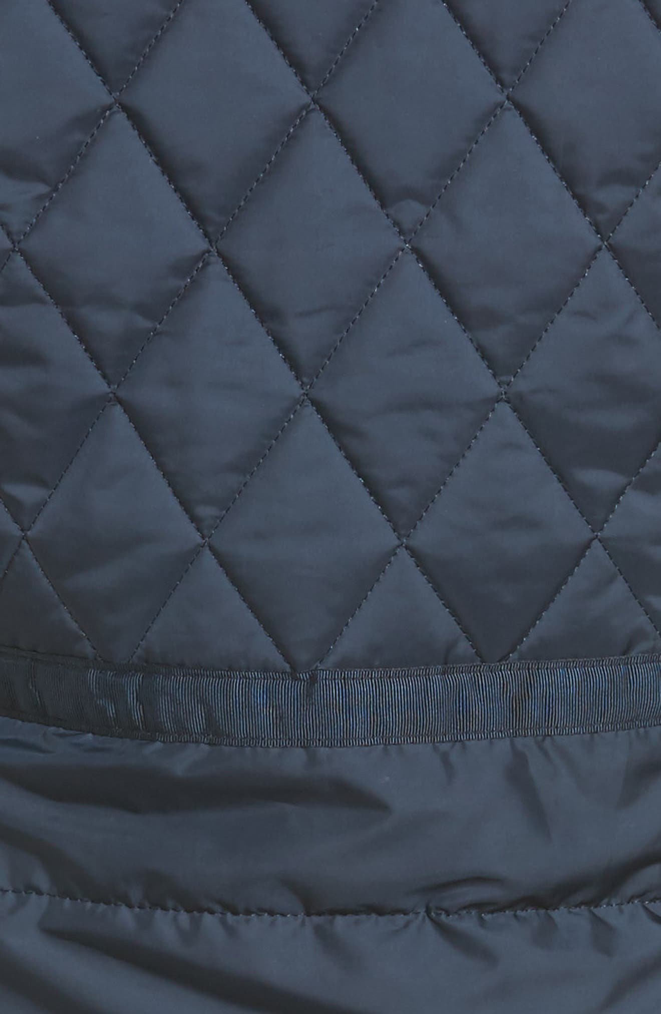 Water Resistant Quilted Jacket,                             Alternate thumbnail 12, color,