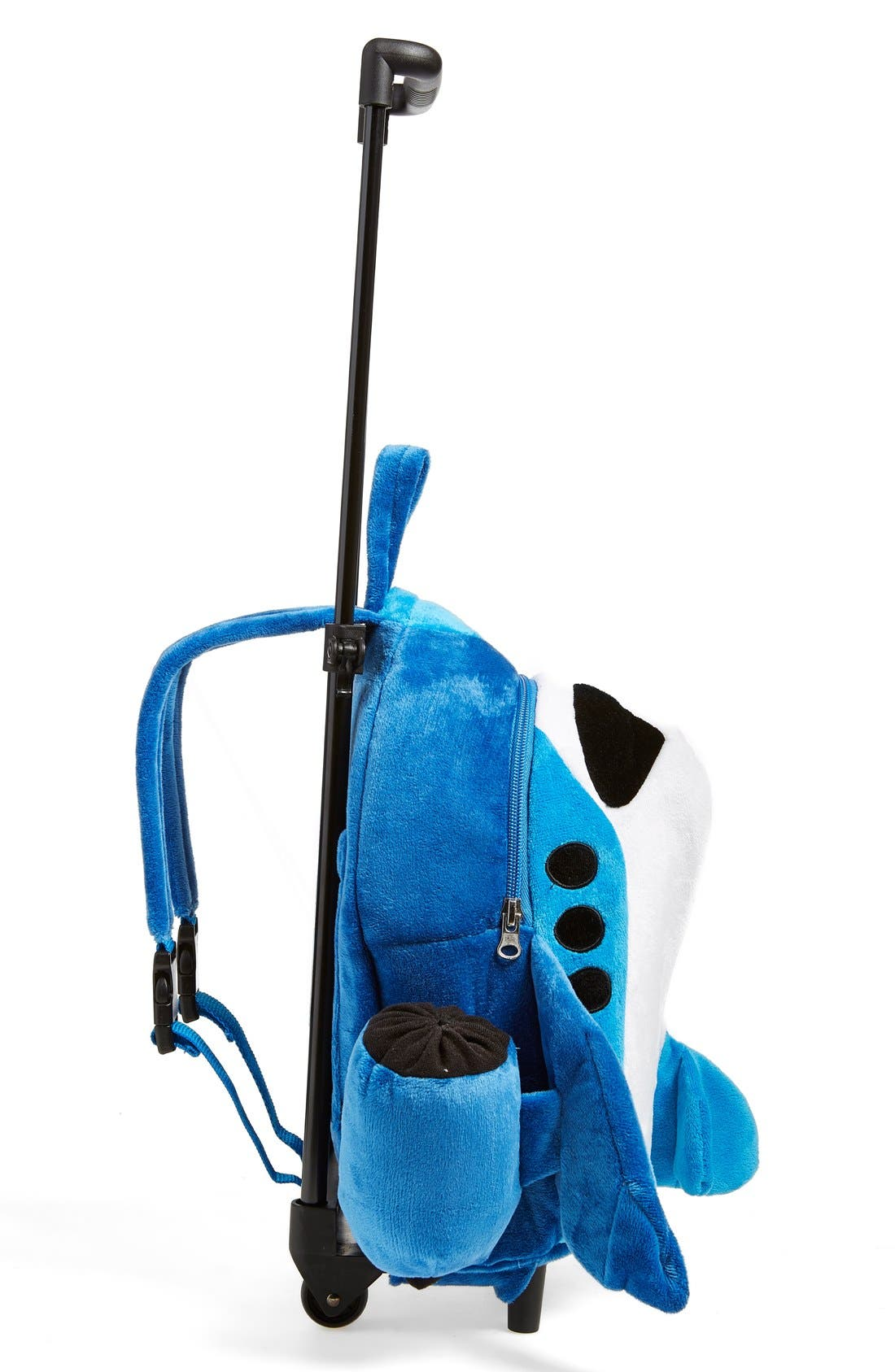 Trolley Rolling Backpack Set,                             Alternate thumbnail 4, color,                             AIRPLANE BLUE