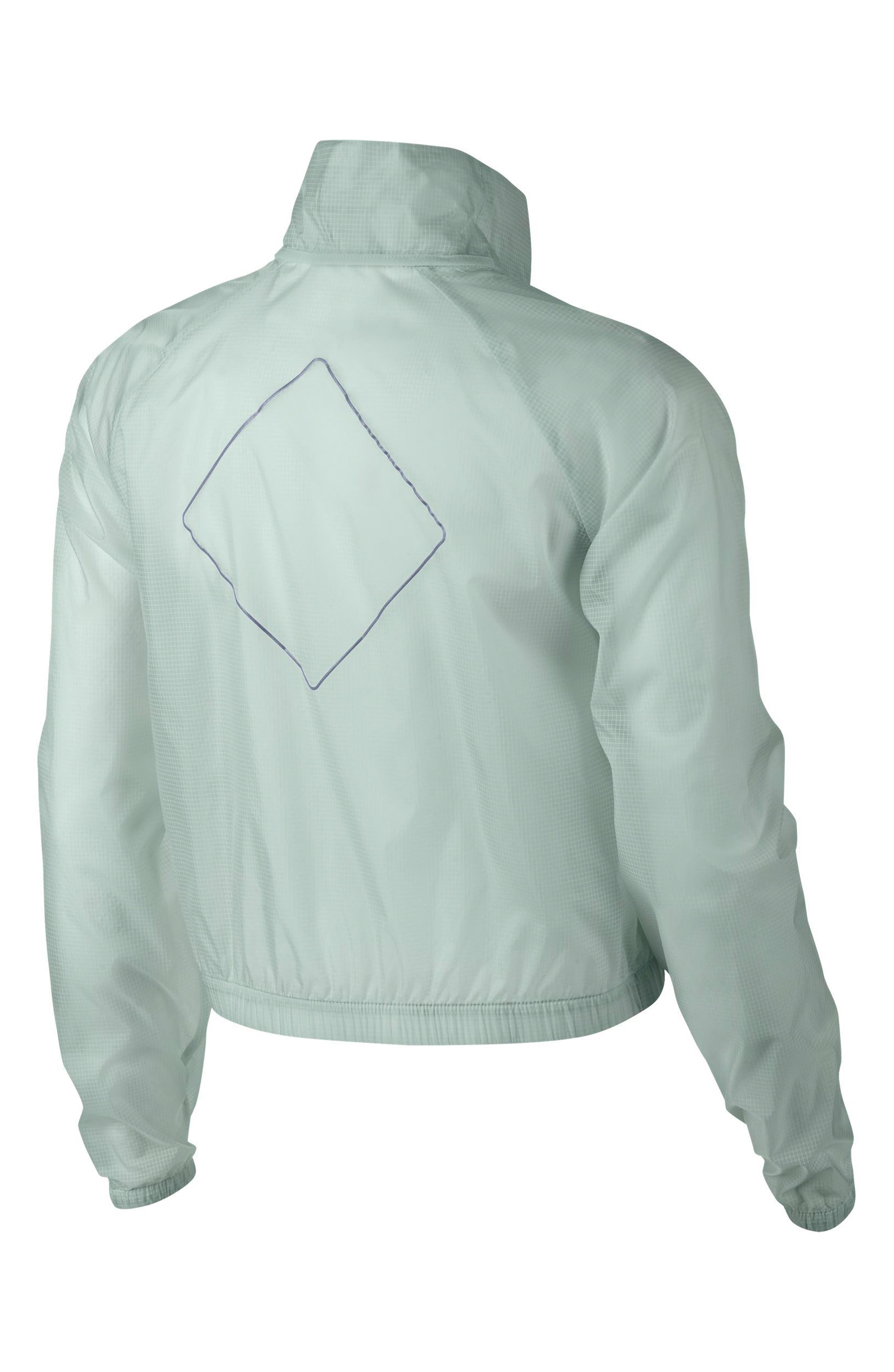 Transparent Running Jacket,                             Alternate thumbnail 8, color,                             026