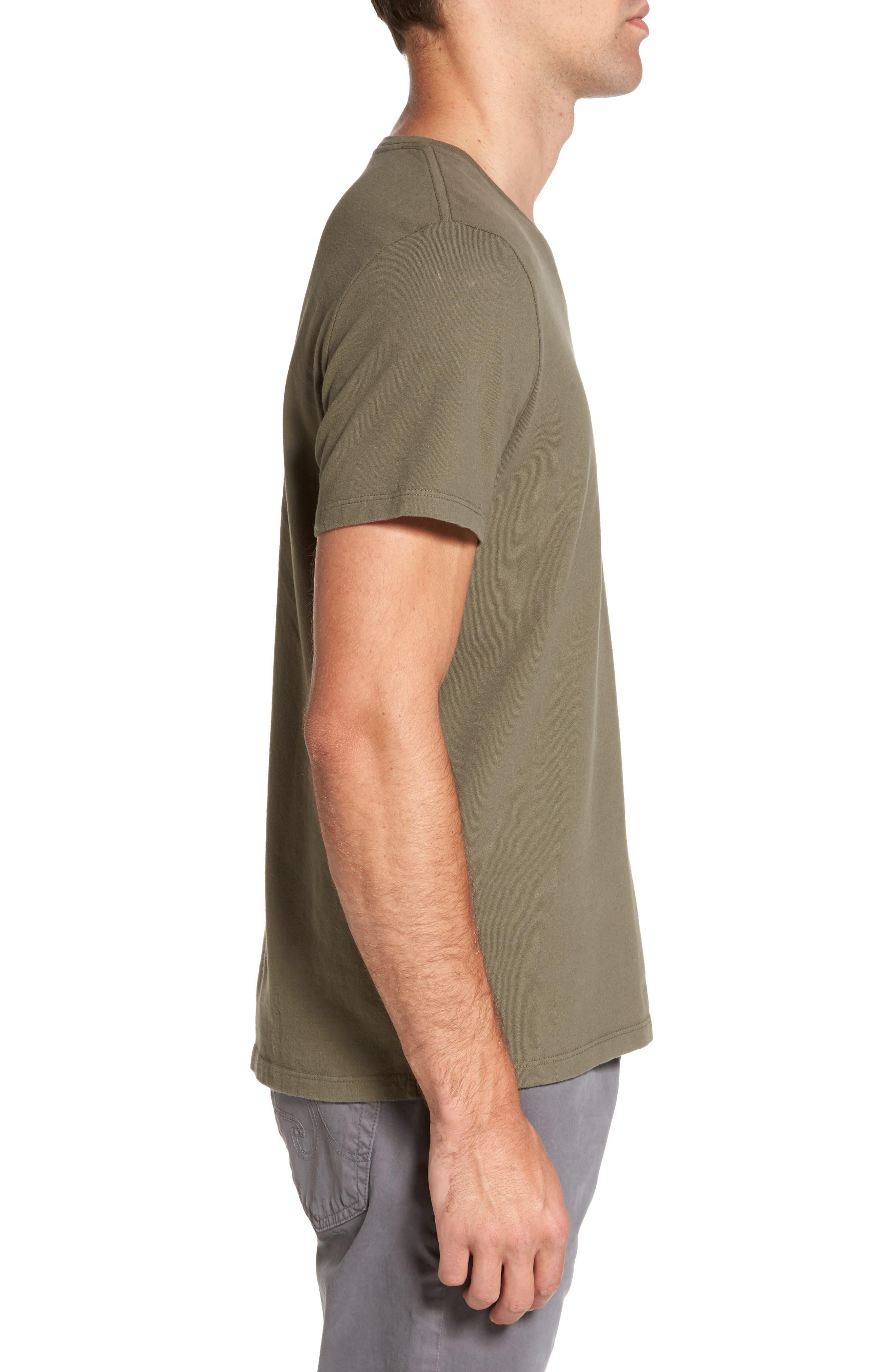 'Commute' V-Neck T-Shirt,                             Alternate thumbnail 3, color,                             396