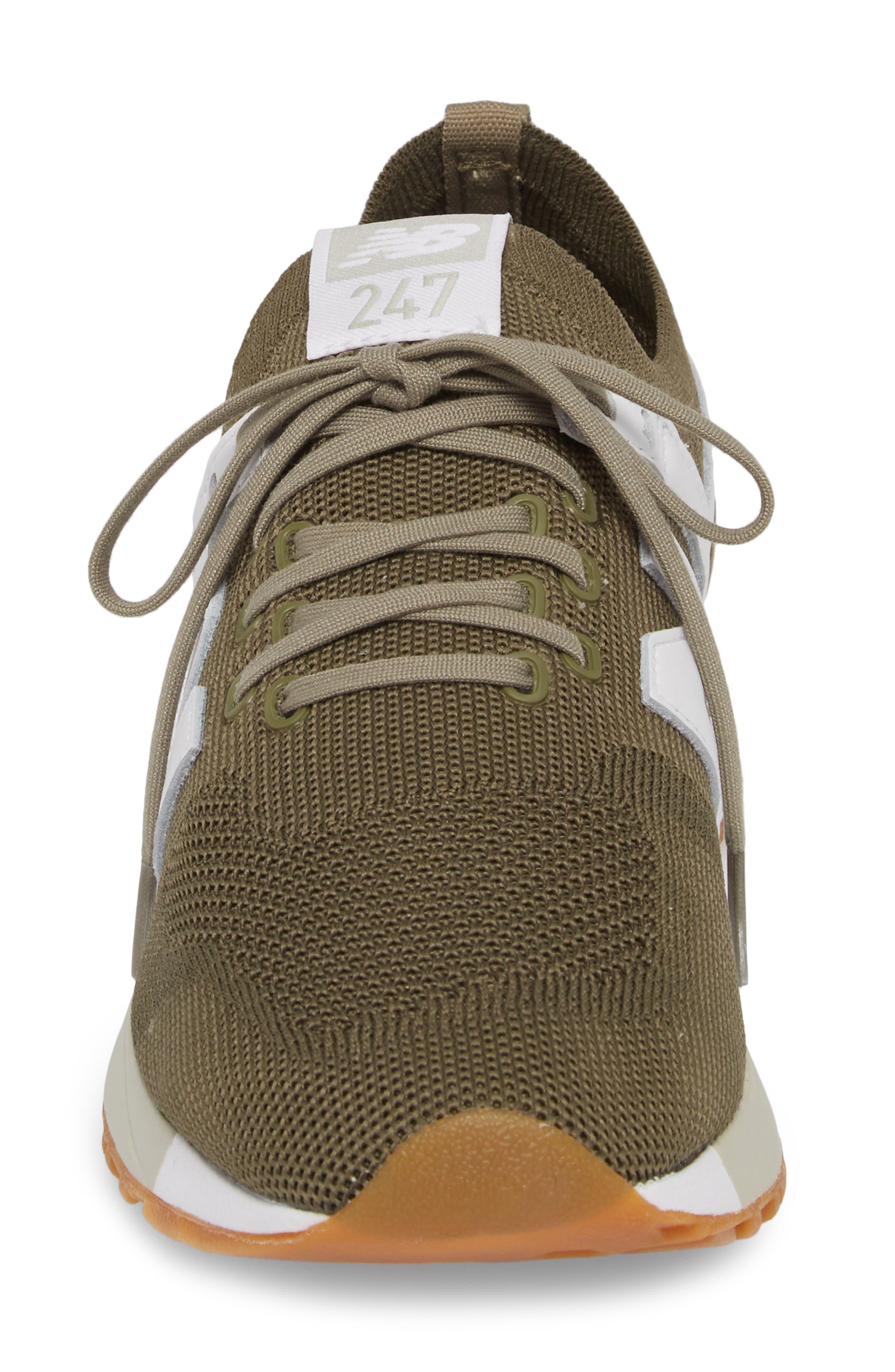247 Decon Sneaker,                             Alternate thumbnail 4, color,                             COVERT GREEN
