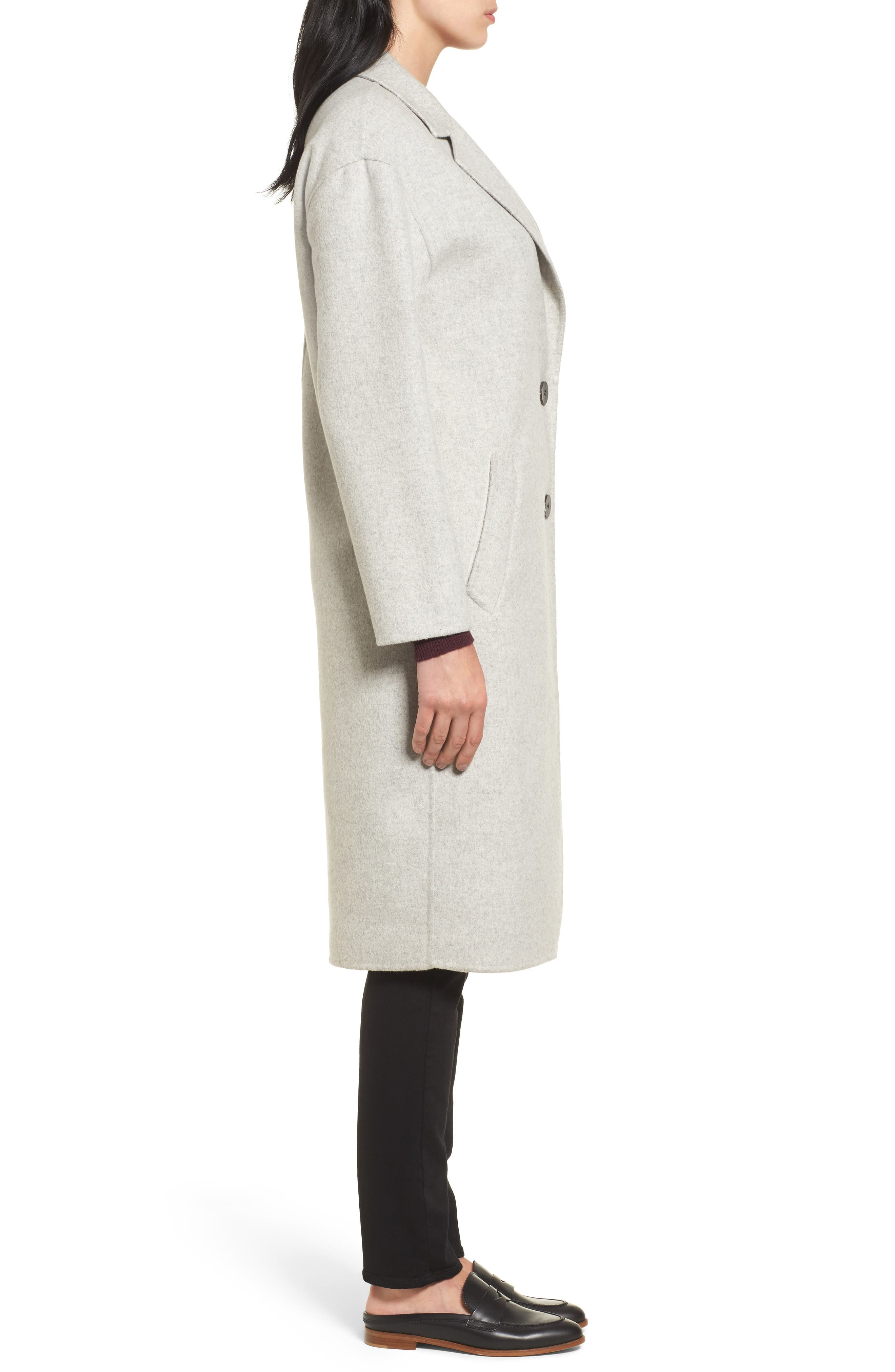 Clean Cocoon Peacoat,                             Alternate thumbnail 3, color,                             050