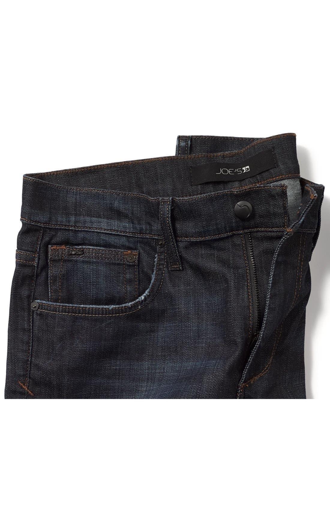 'Classic' Straight Leg Jeans,                             Alternate thumbnail 4, color,                             403