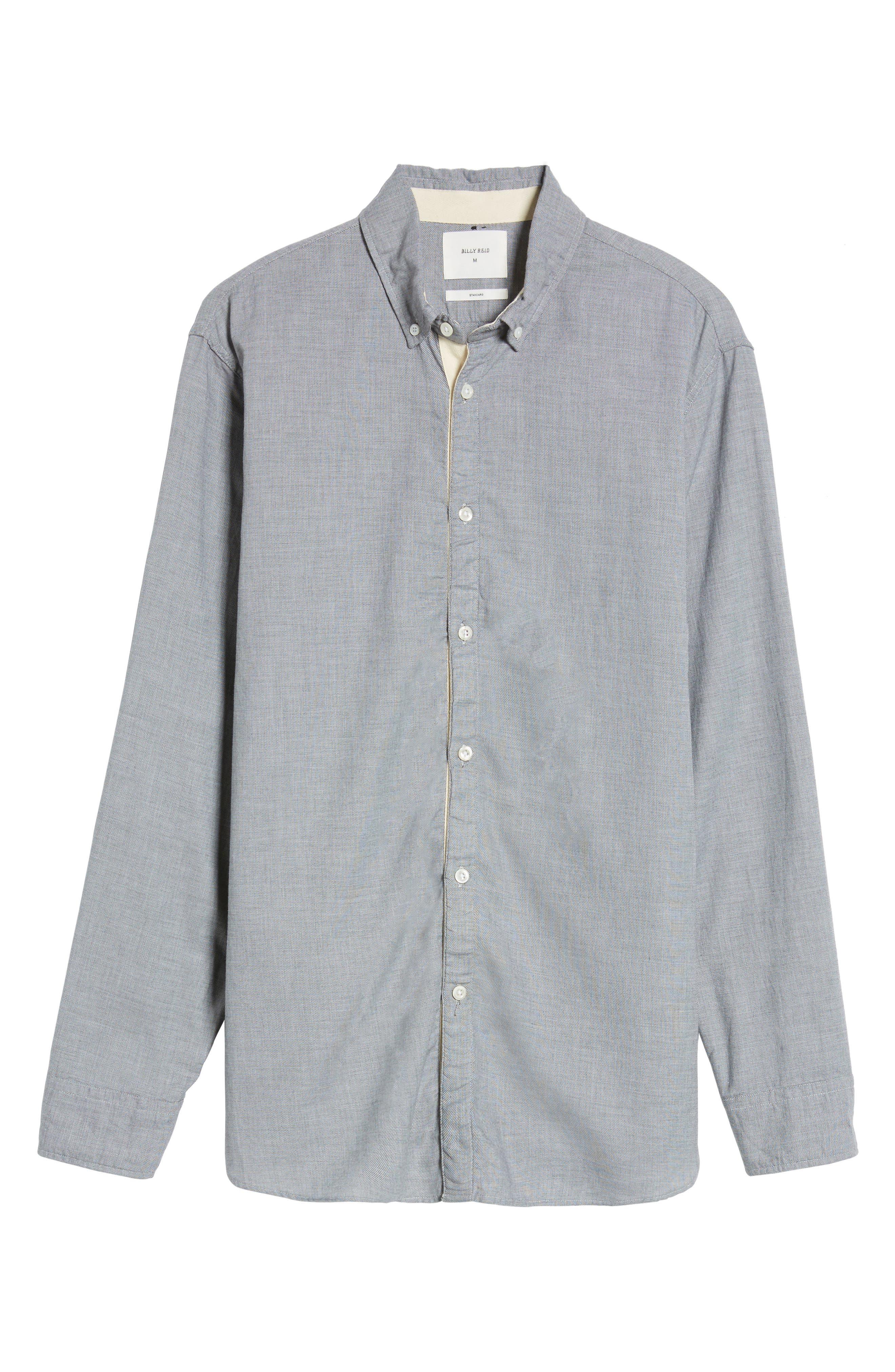Irvine Standard Fit Sport Shirt,                             Alternate thumbnail 6, color,                             055