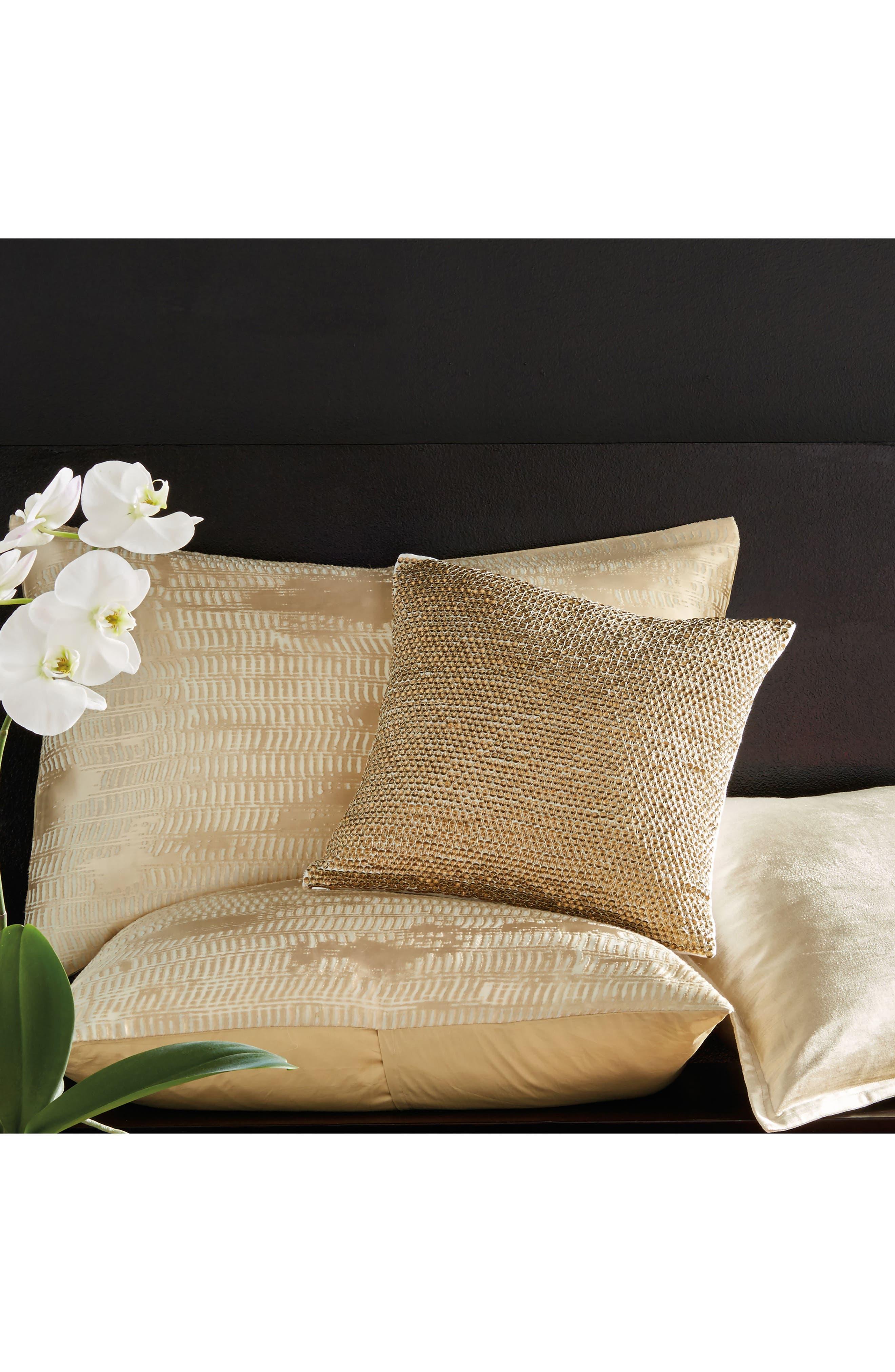 Donna Karan Vapor Sequin Accent Pillow,                             Alternate thumbnail 2, color,                             710