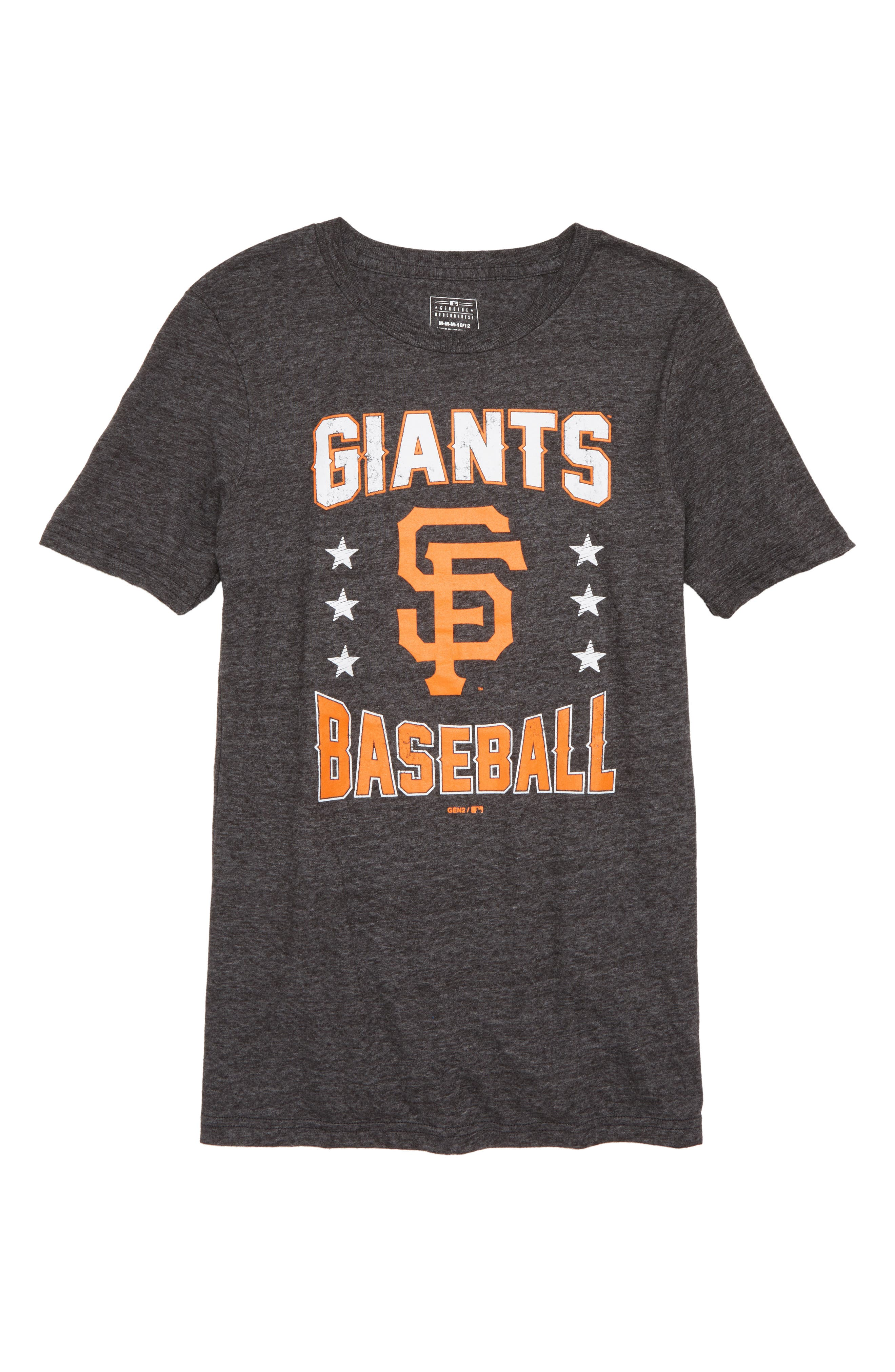 MAJESTIC MLB,                             San Francisco Giants Triple Play T-Shirt,                             Main thumbnail 1, color,                             001
