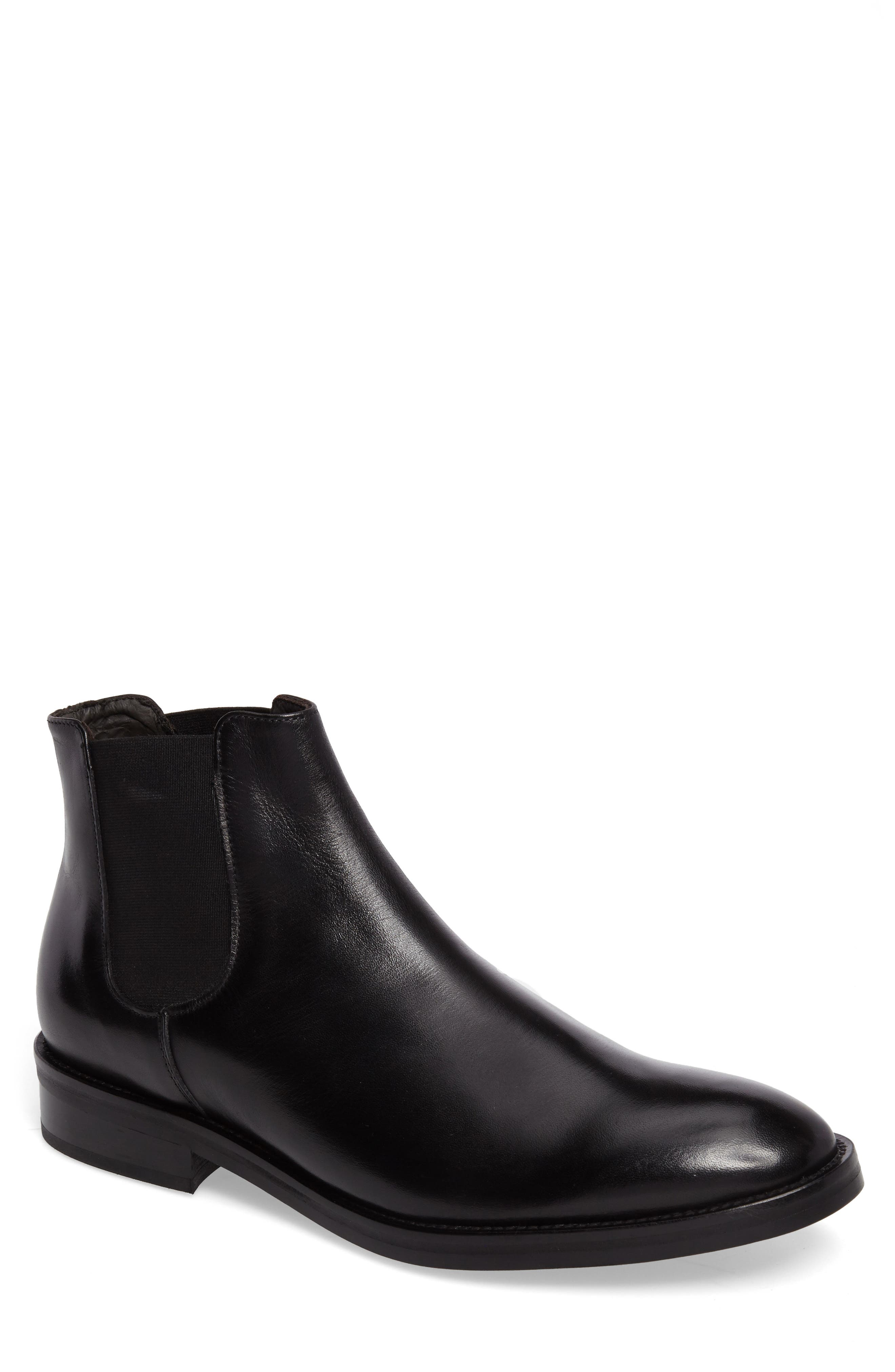 Finn Chelsea Boot,                         Main,                         color, 001