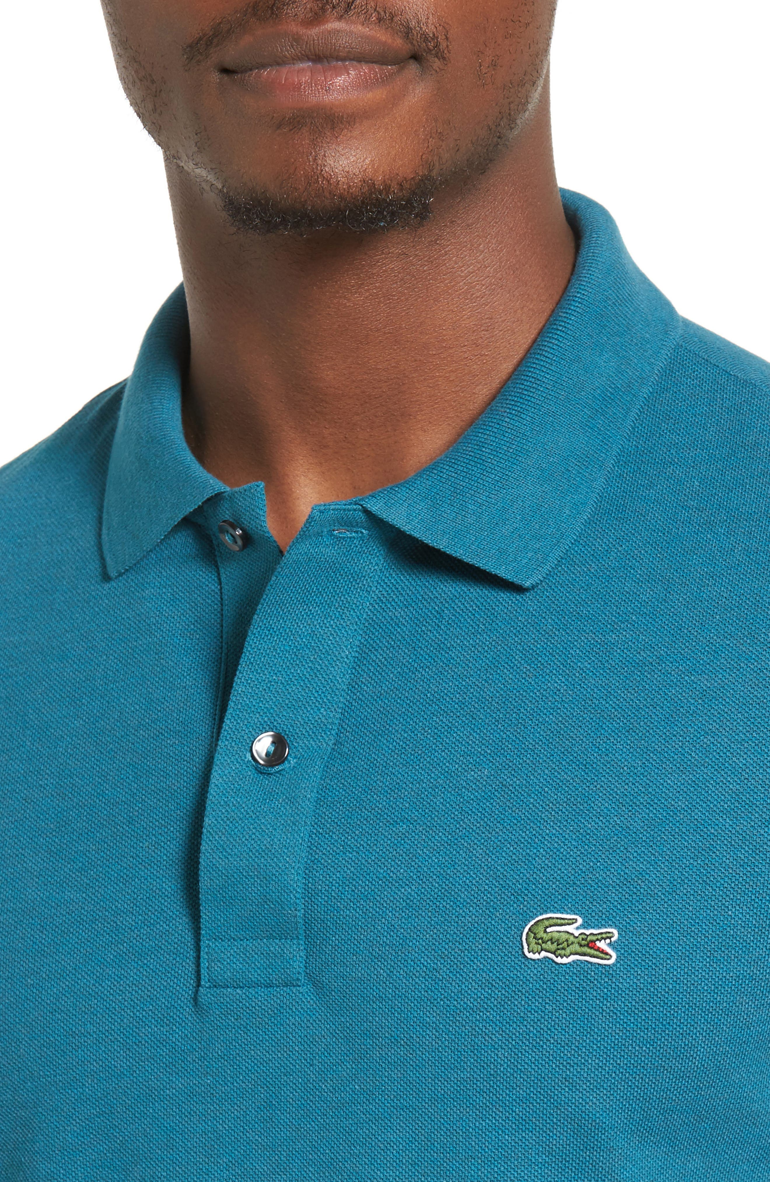 Slim Fit Piqué Polo,                             Alternate thumbnail 43, color,