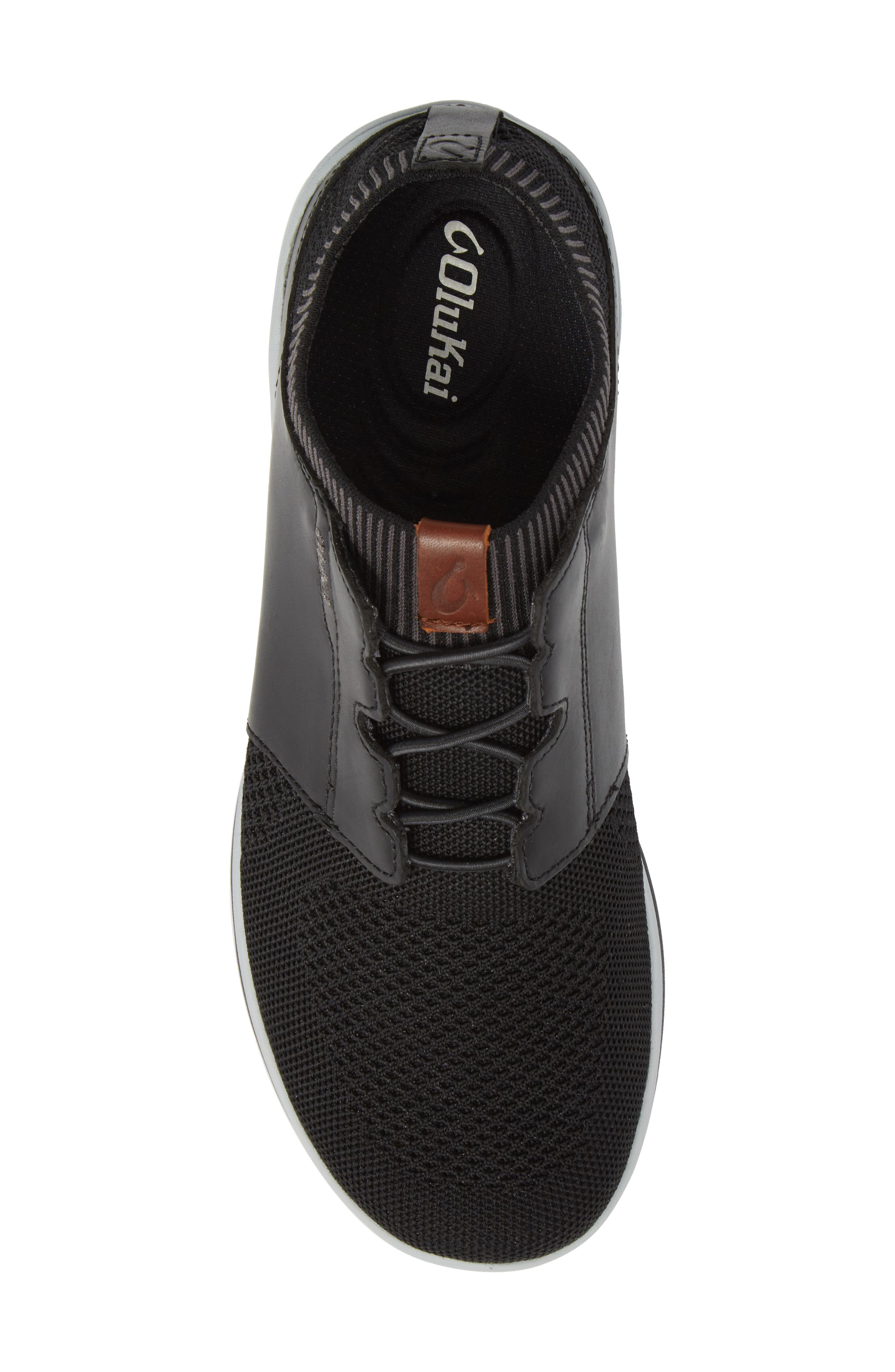 Makia Ulana Sneaker,                             Alternate thumbnail 5, color,                             BLACK/ BLACK