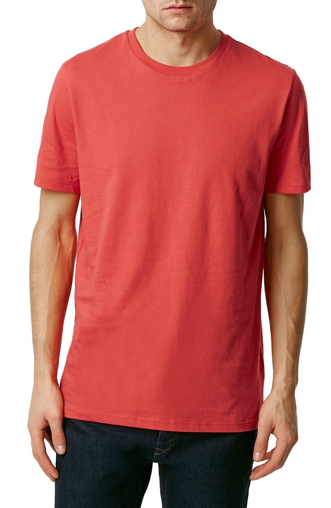 Slim Fit Crewneck T-Shirt,                             Main thumbnail 84, color,