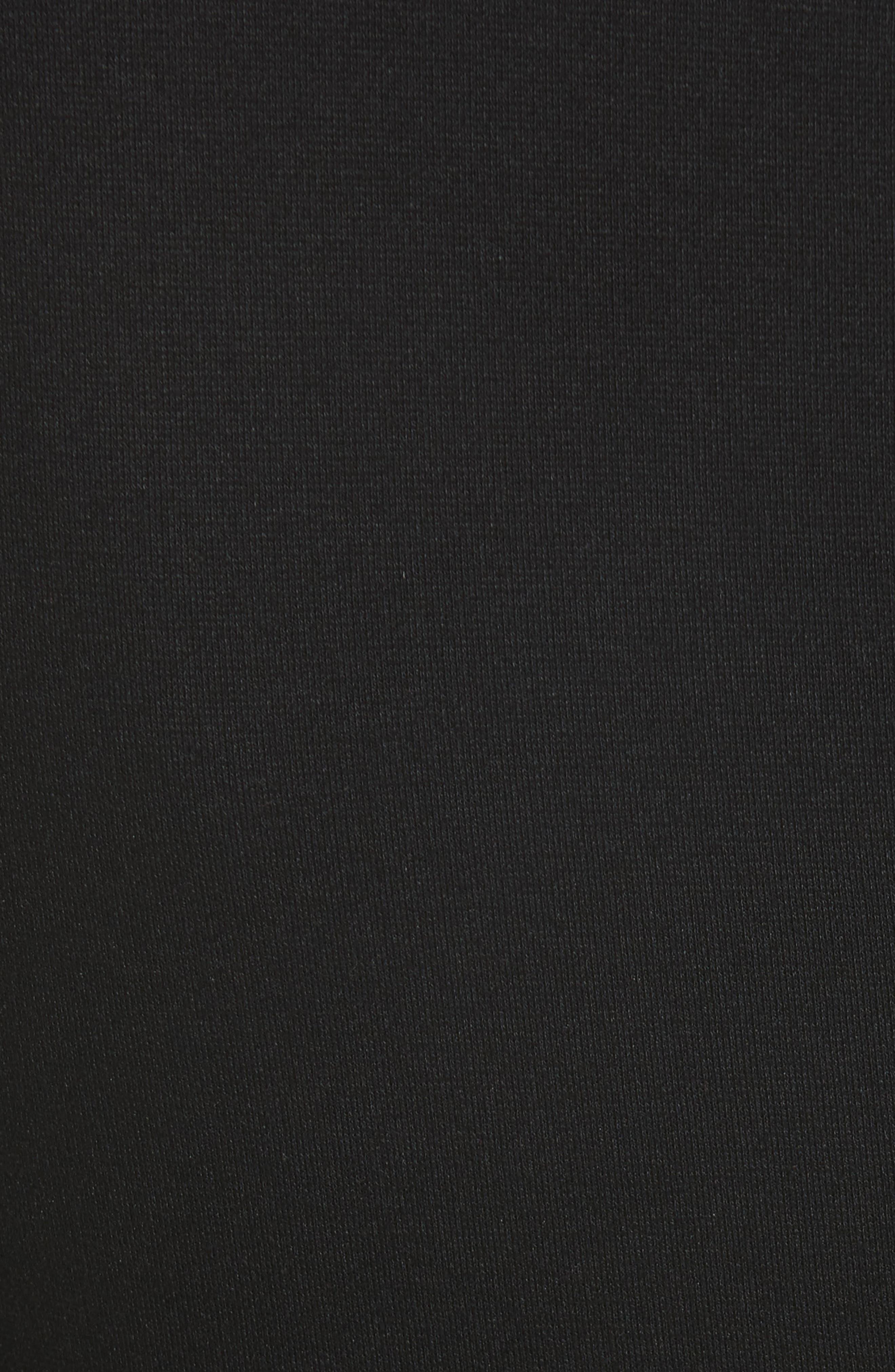 Collection Cutout Sheath Dress,                             Alternate thumbnail 5, color,                             001
