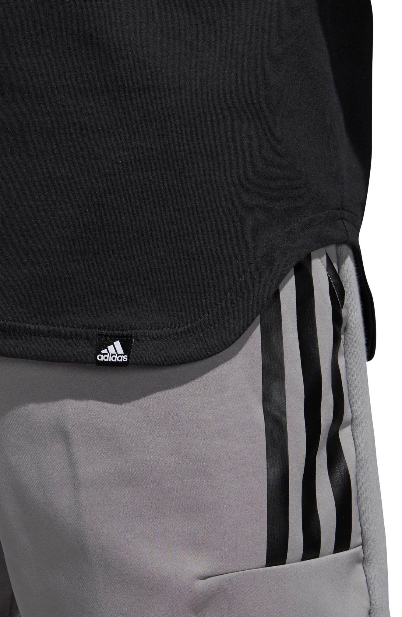 ADIDAS,                             Elevate LA T-Shirt,                             Alternate thumbnail 6, color,                             001