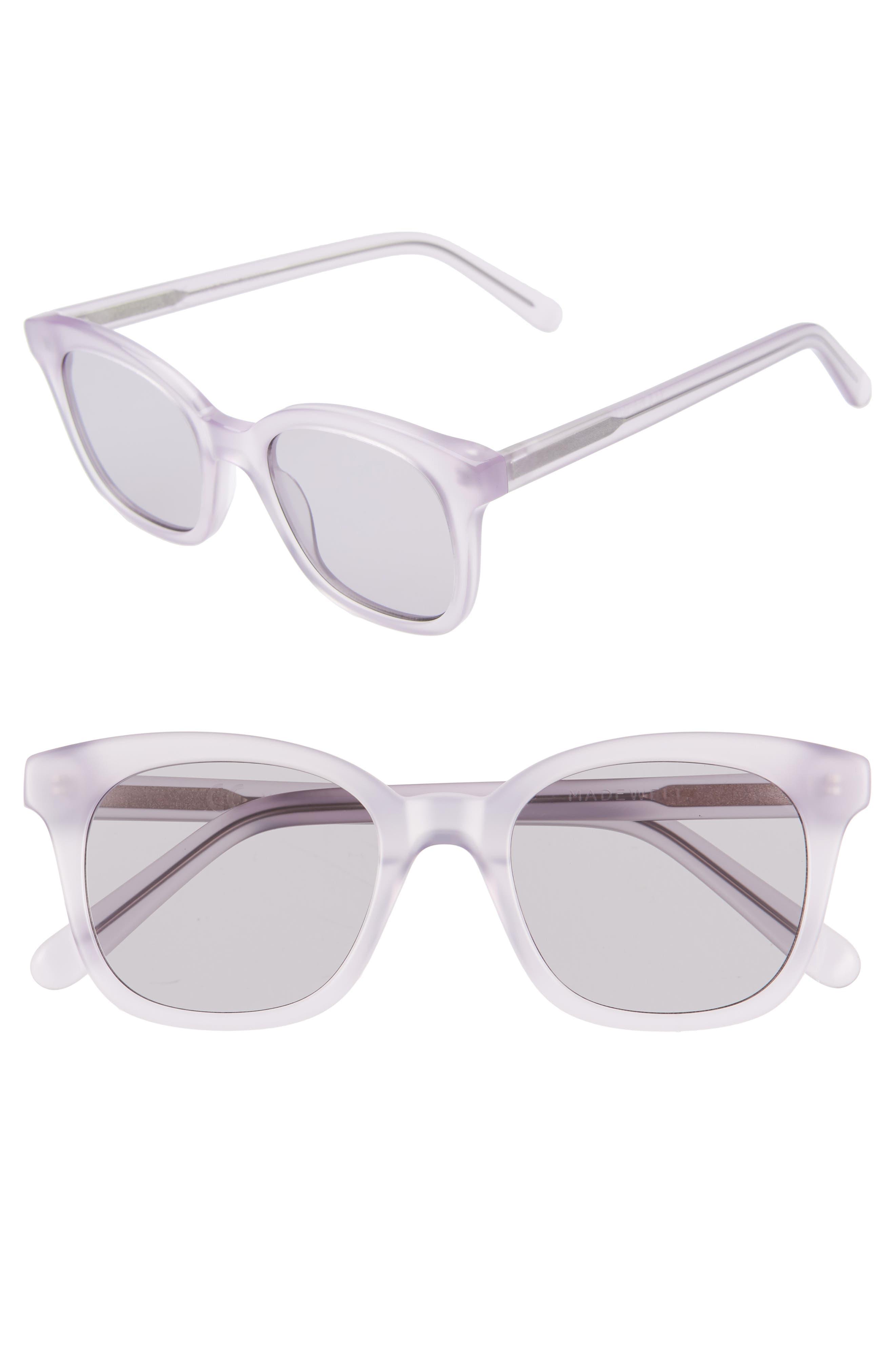 Madewell Venice 4m Flat Frame Sunglasses -