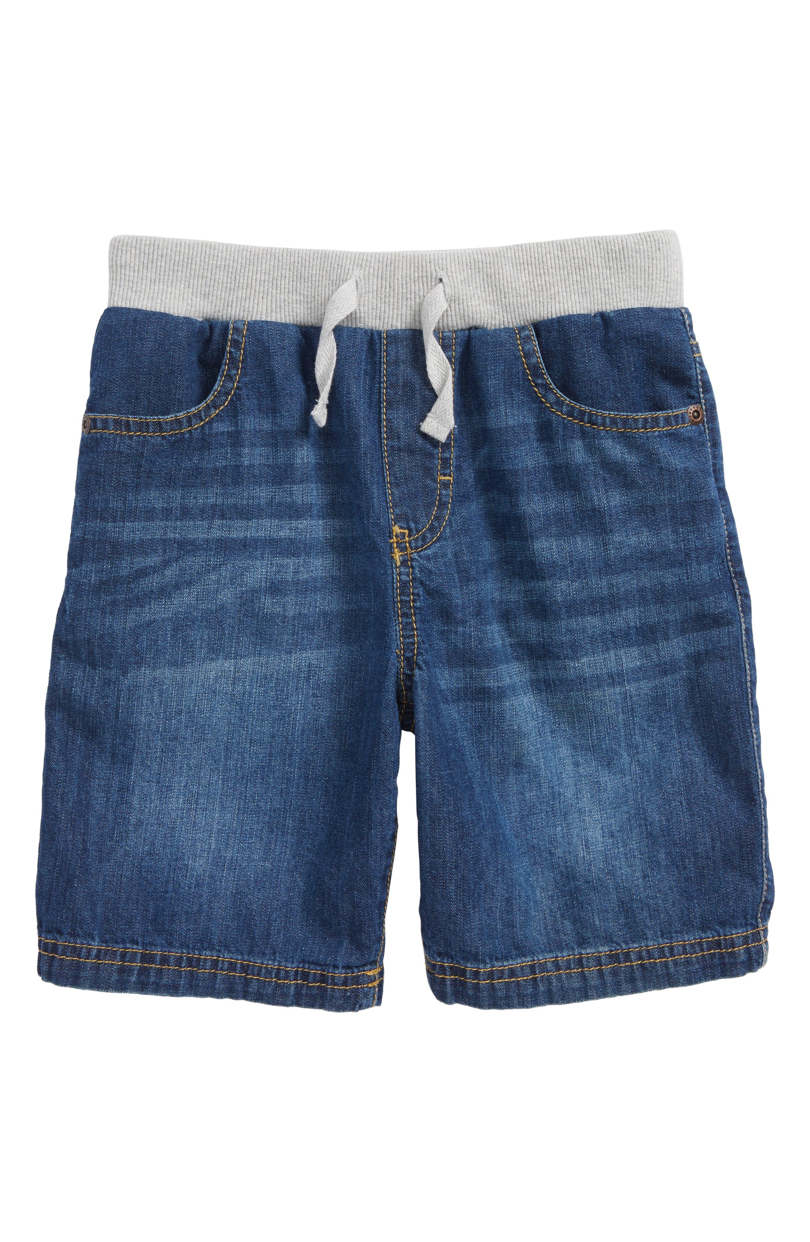 Denim Shorts,                             Main thumbnail 1, color,