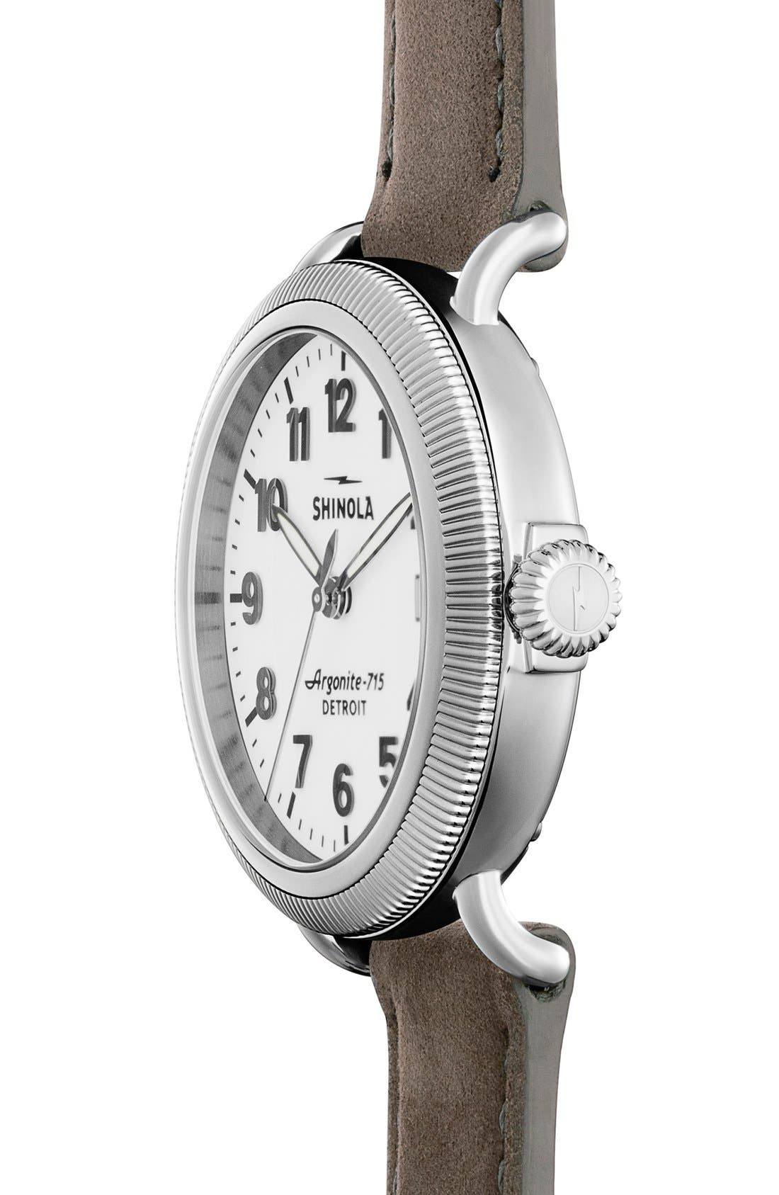 'The Runwell' Leather Strap Watch, 47mm,                             Alternate thumbnail 35, color,