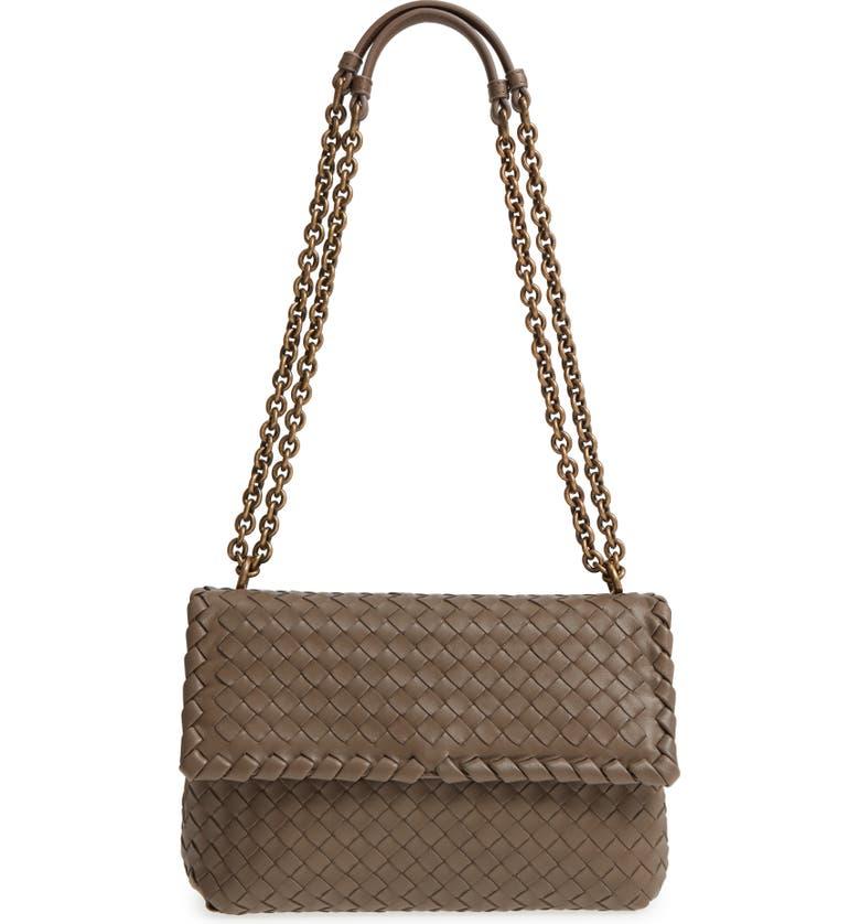 772e0665ee19 Bottega Veneta Small Olimpia Leather Shoulder Bag
