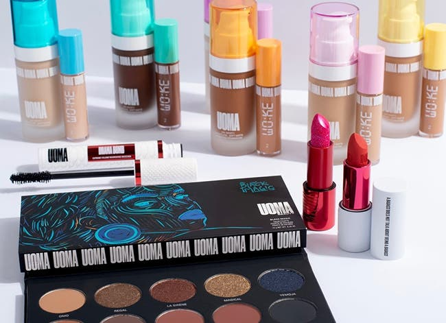New to Nordstrom: UOMA Beauty makeup.