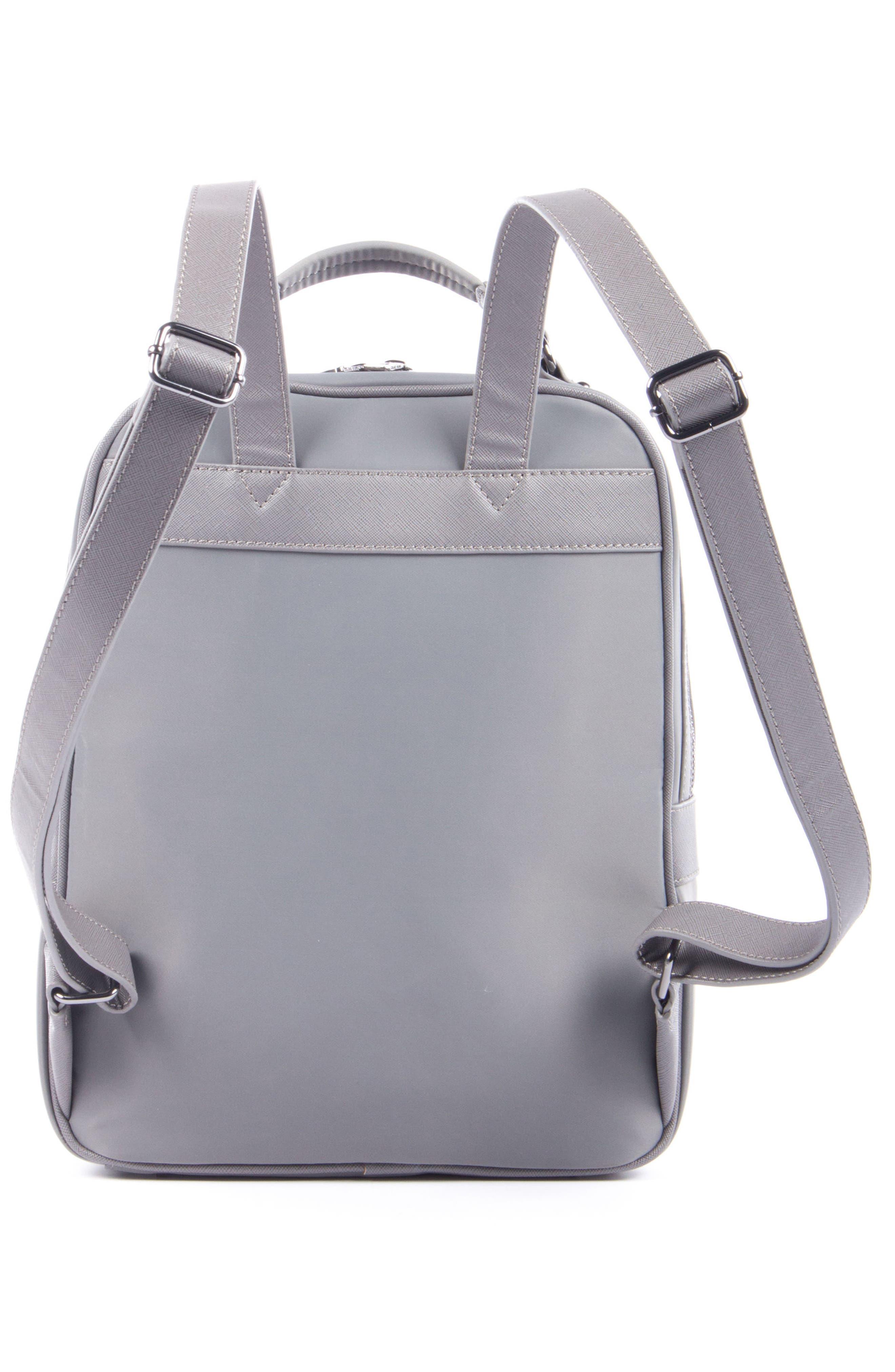 Céline Dion Presto Nylon Backpack,                             Alternate thumbnail 6, color,