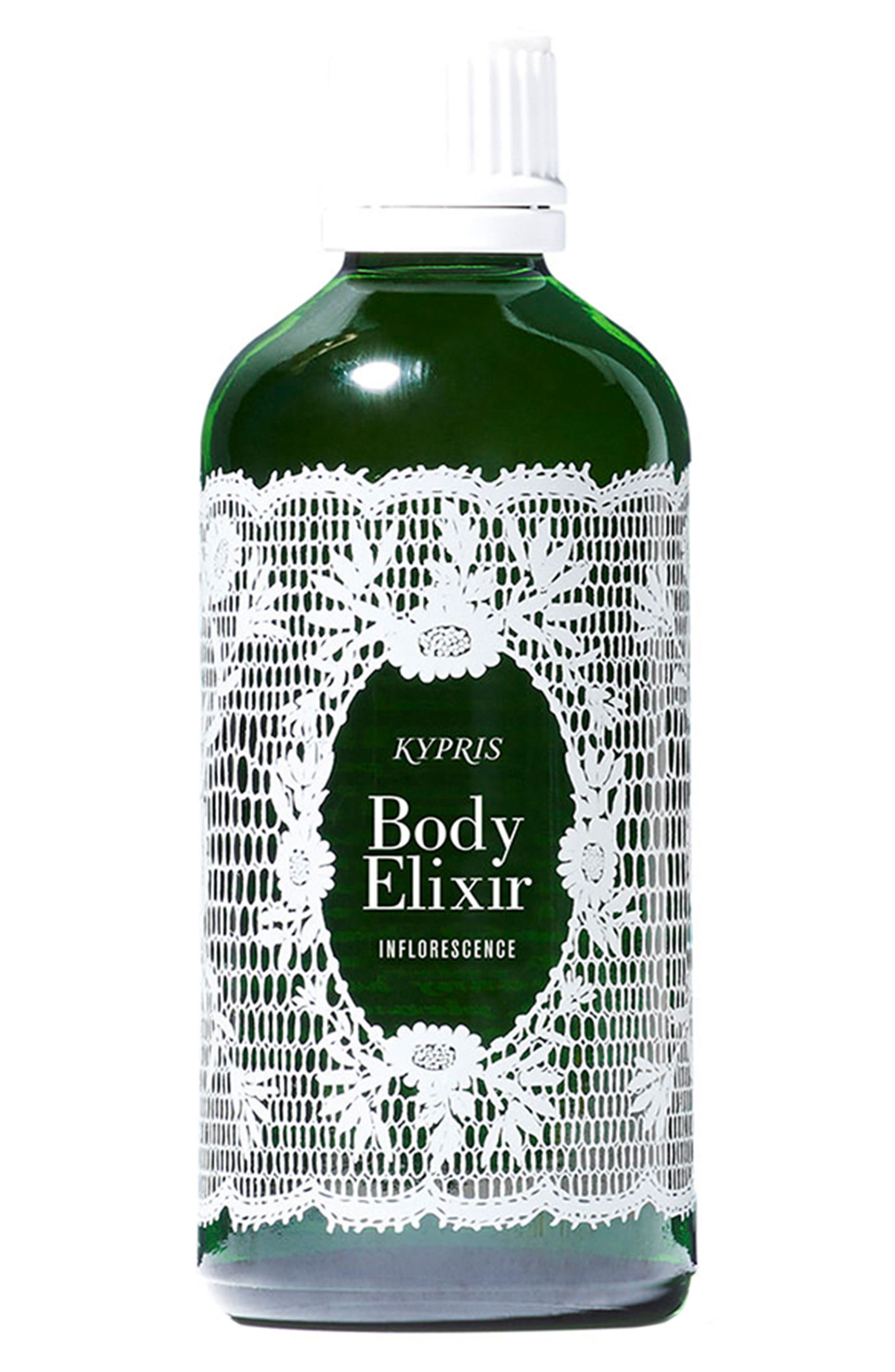 KYPRIS BEAUTY,                             Body Elixir: Inflorescence,                             Main thumbnail 1, color,                             NO COLOR
