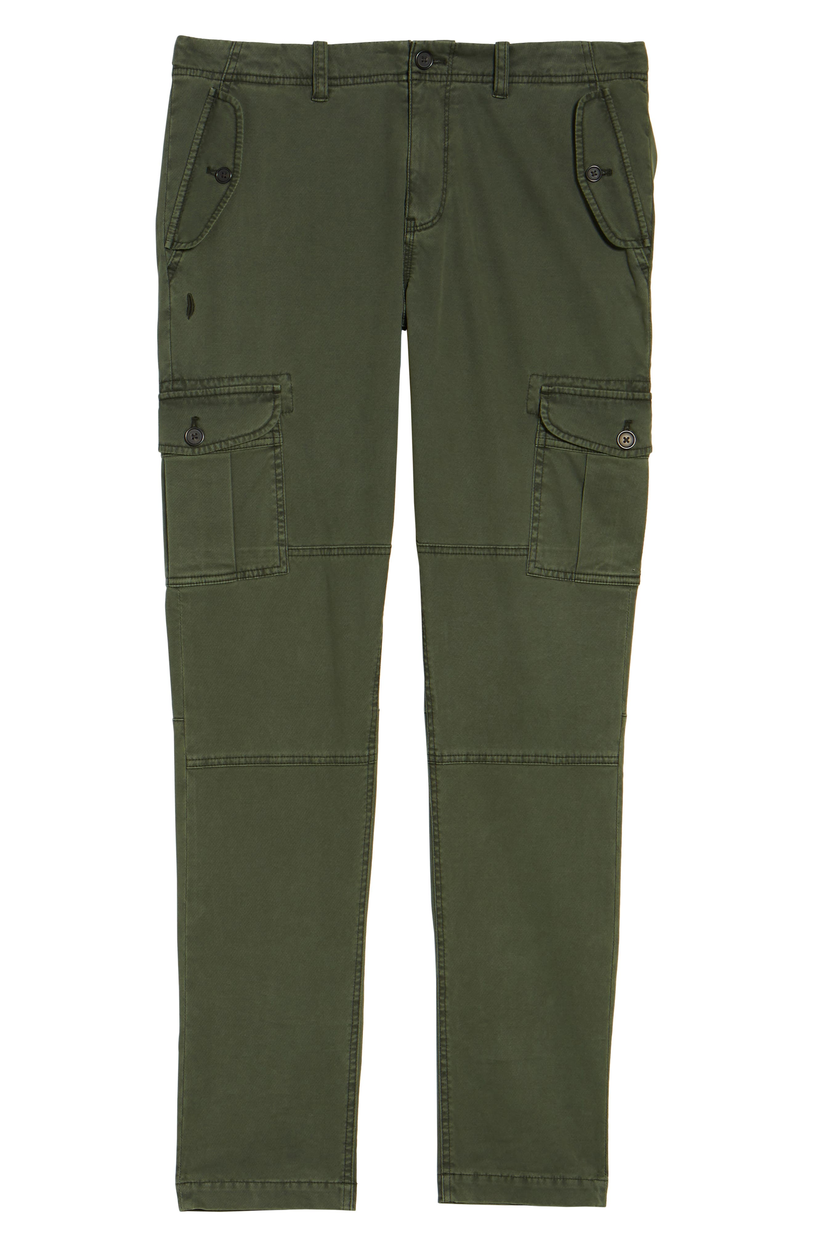 Stretch Twill Cargo Pants,                             Alternate thumbnail 17, color,