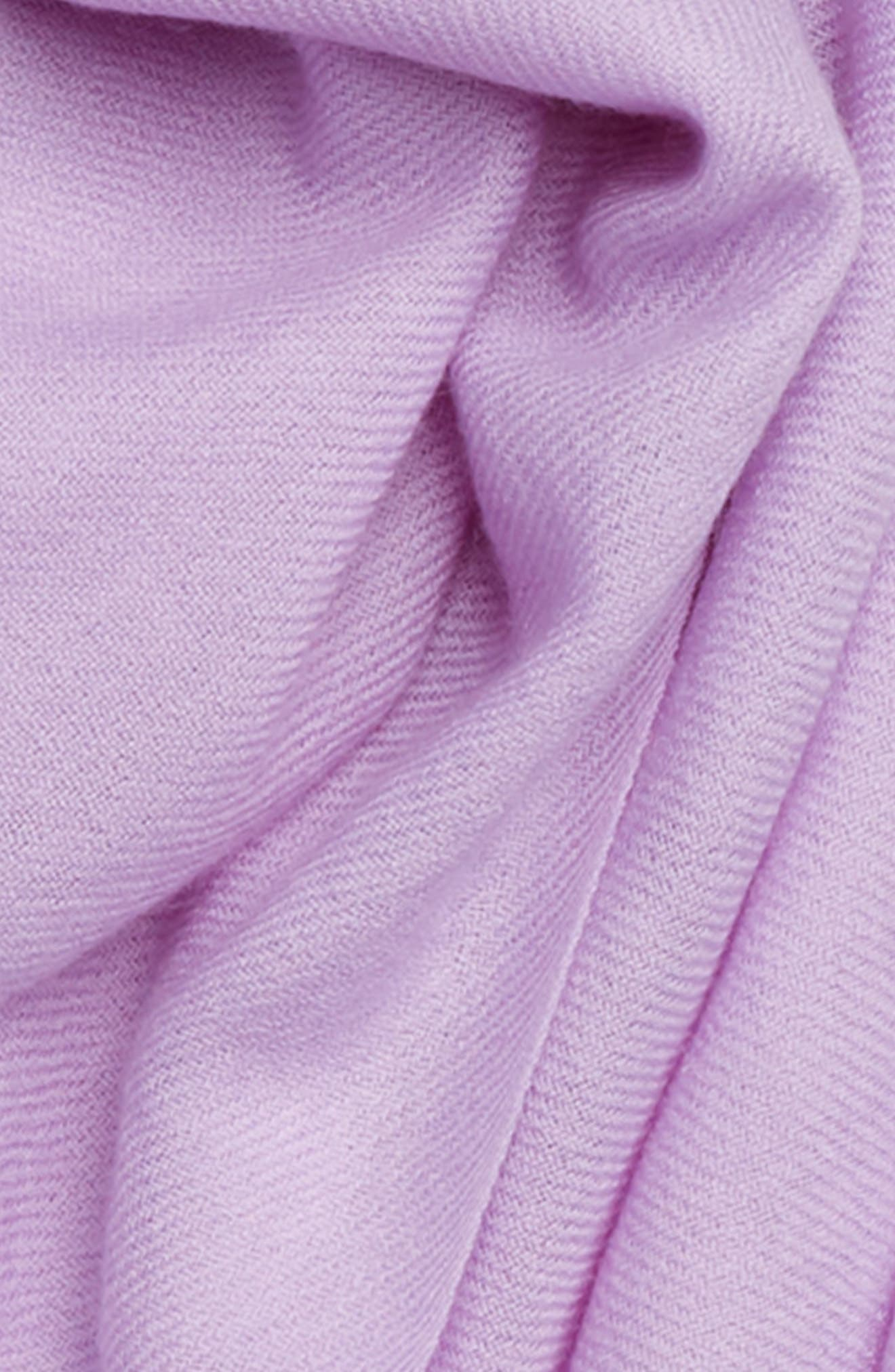 Tissue Weight Wool & Cashmere Scarf,                             Alternate thumbnail 215, color,