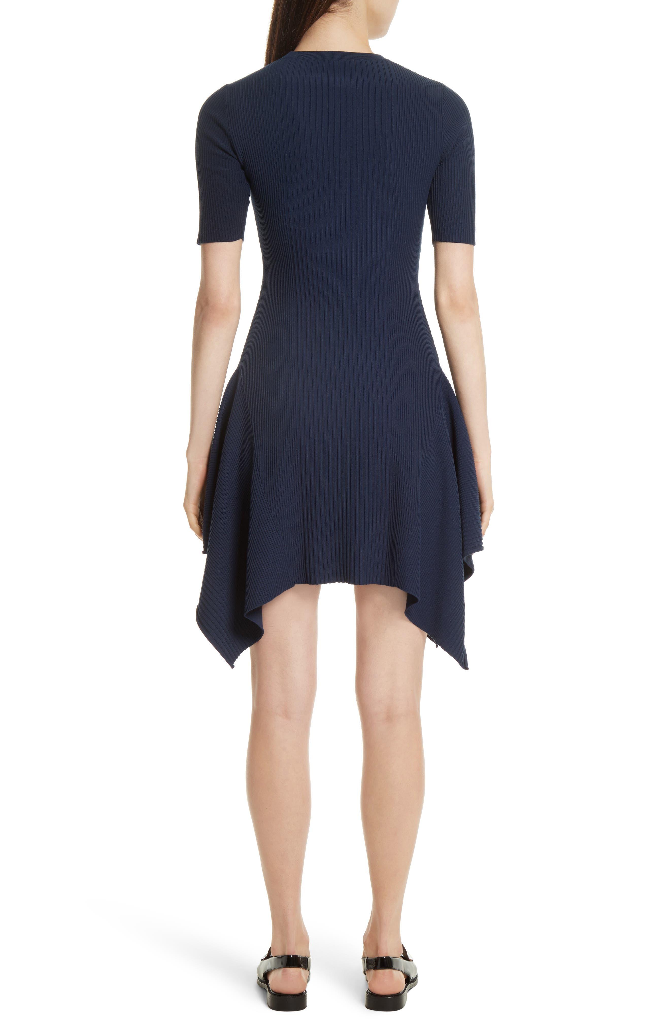 Delta Rib Knit Dress,                             Alternate thumbnail 2, color,                             401