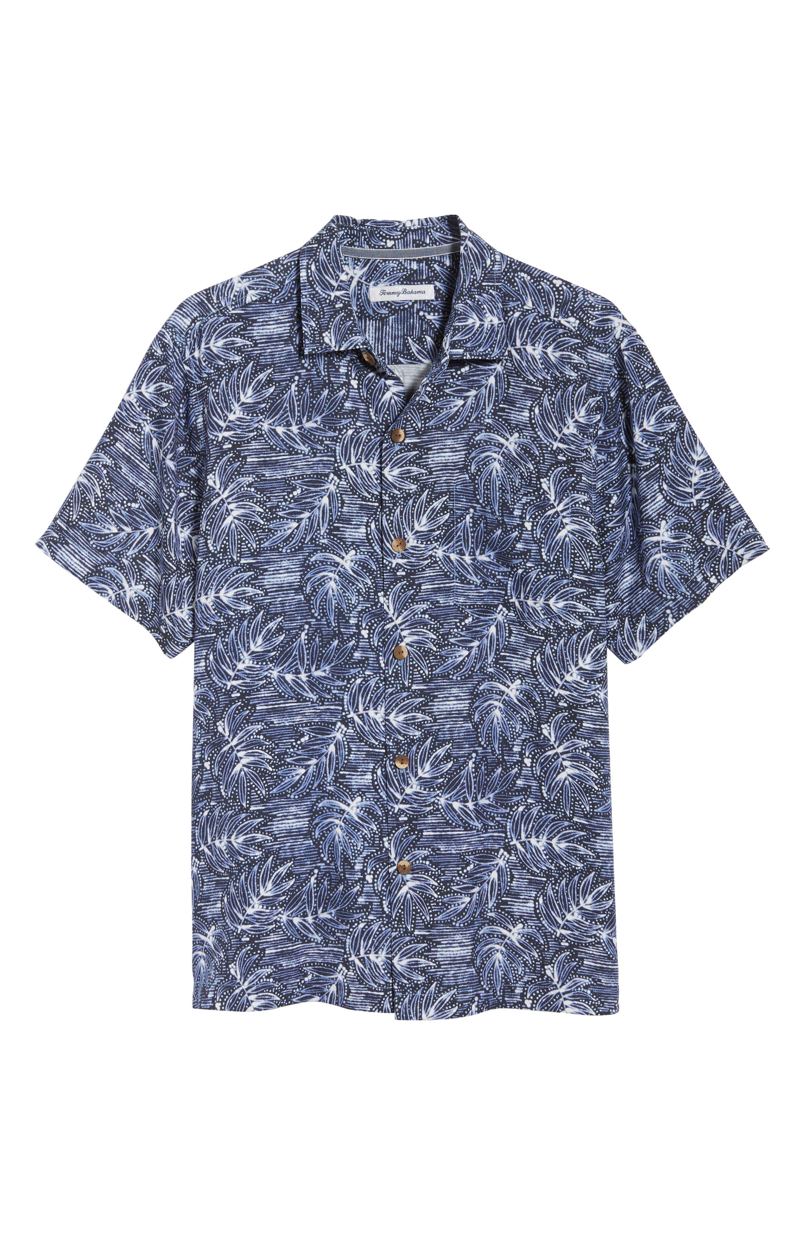 Bueno Batik Sport Shirt,                             Alternate thumbnail 6, color,                             BLUE JEAN