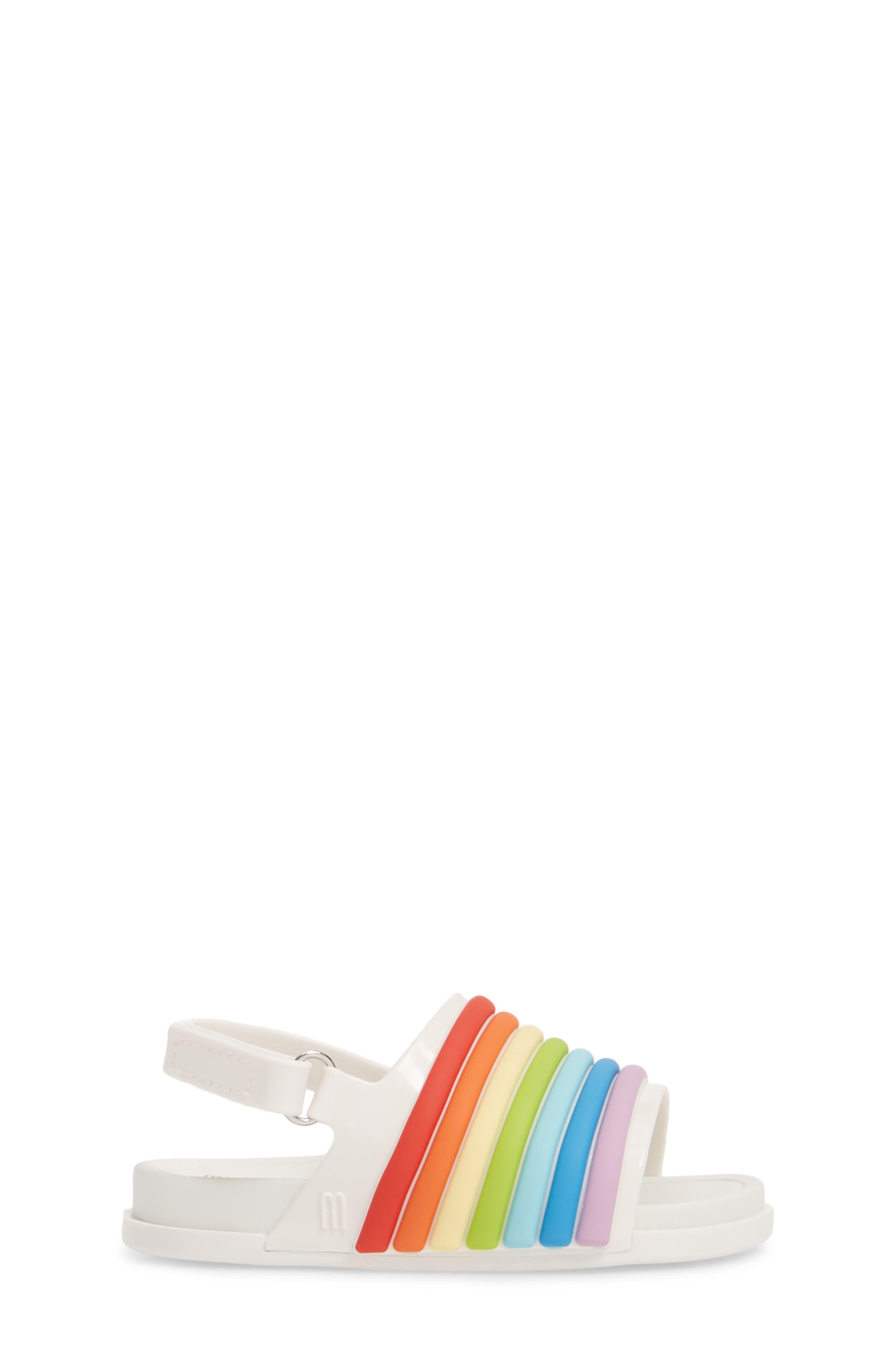 Rainbow Beach Sandal,                             Alternate thumbnail 3, color,                             100