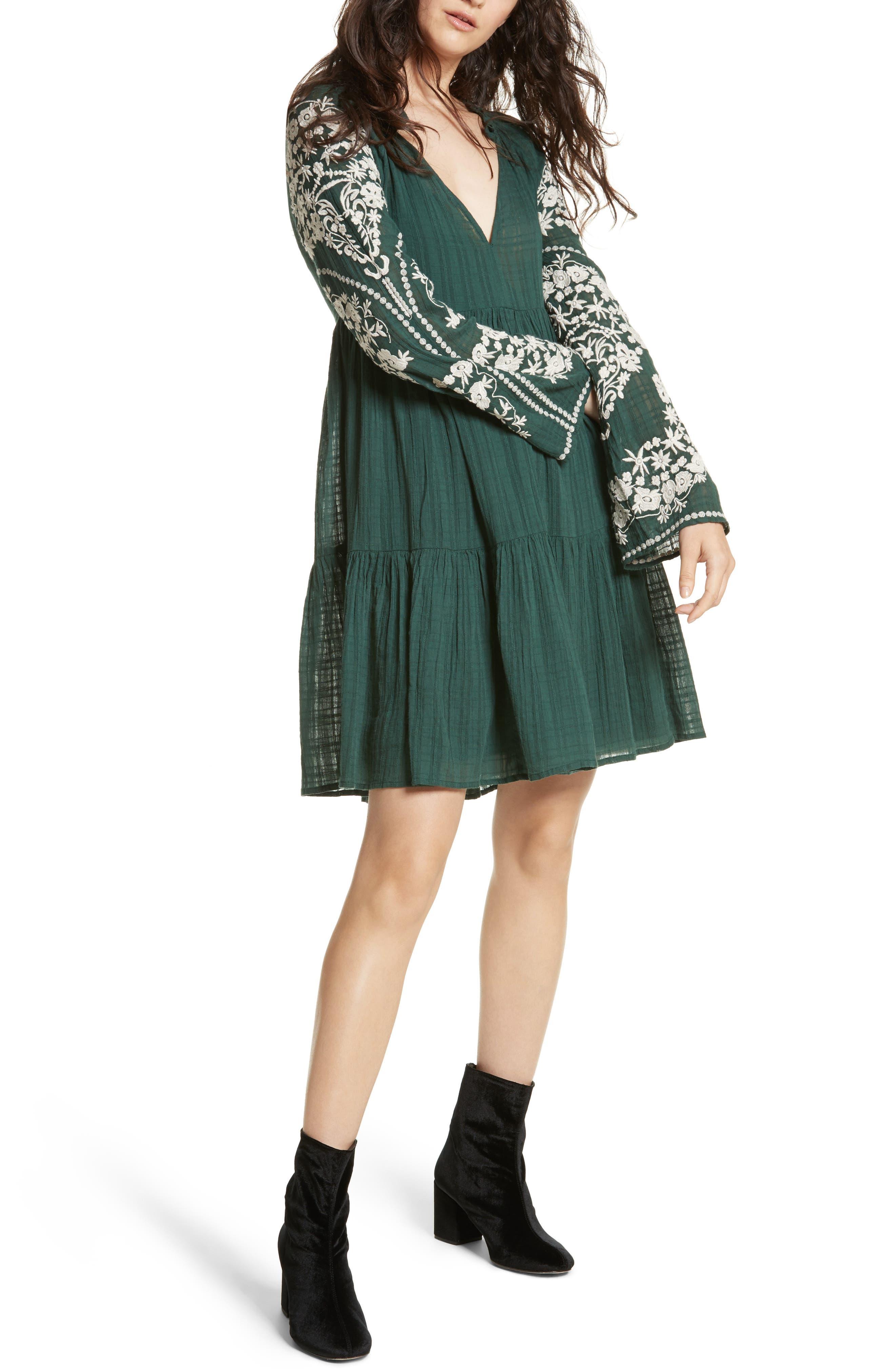 Emerald City Shift Dress,                             Alternate thumbnail 5, color,                             300