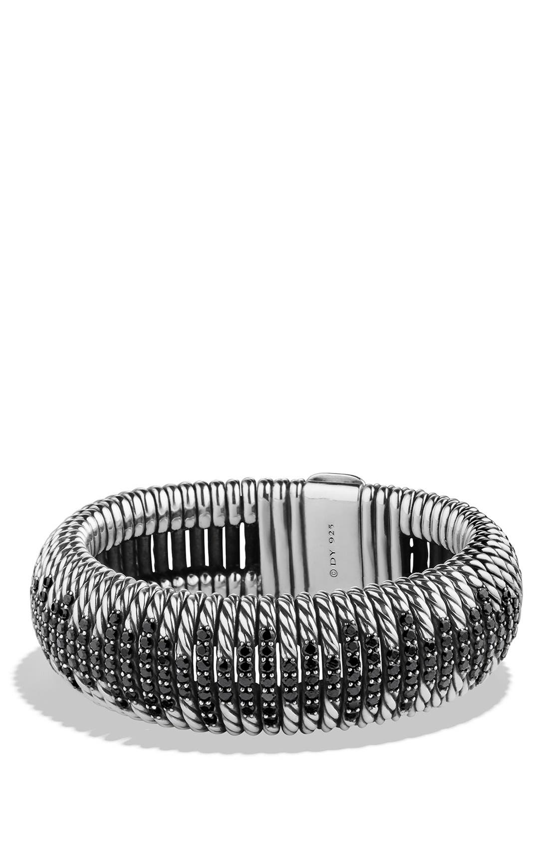 'Tempo' Bracelet with Black Spinel,                             Main thumbnail 1, color,                             BLACK SPINEL