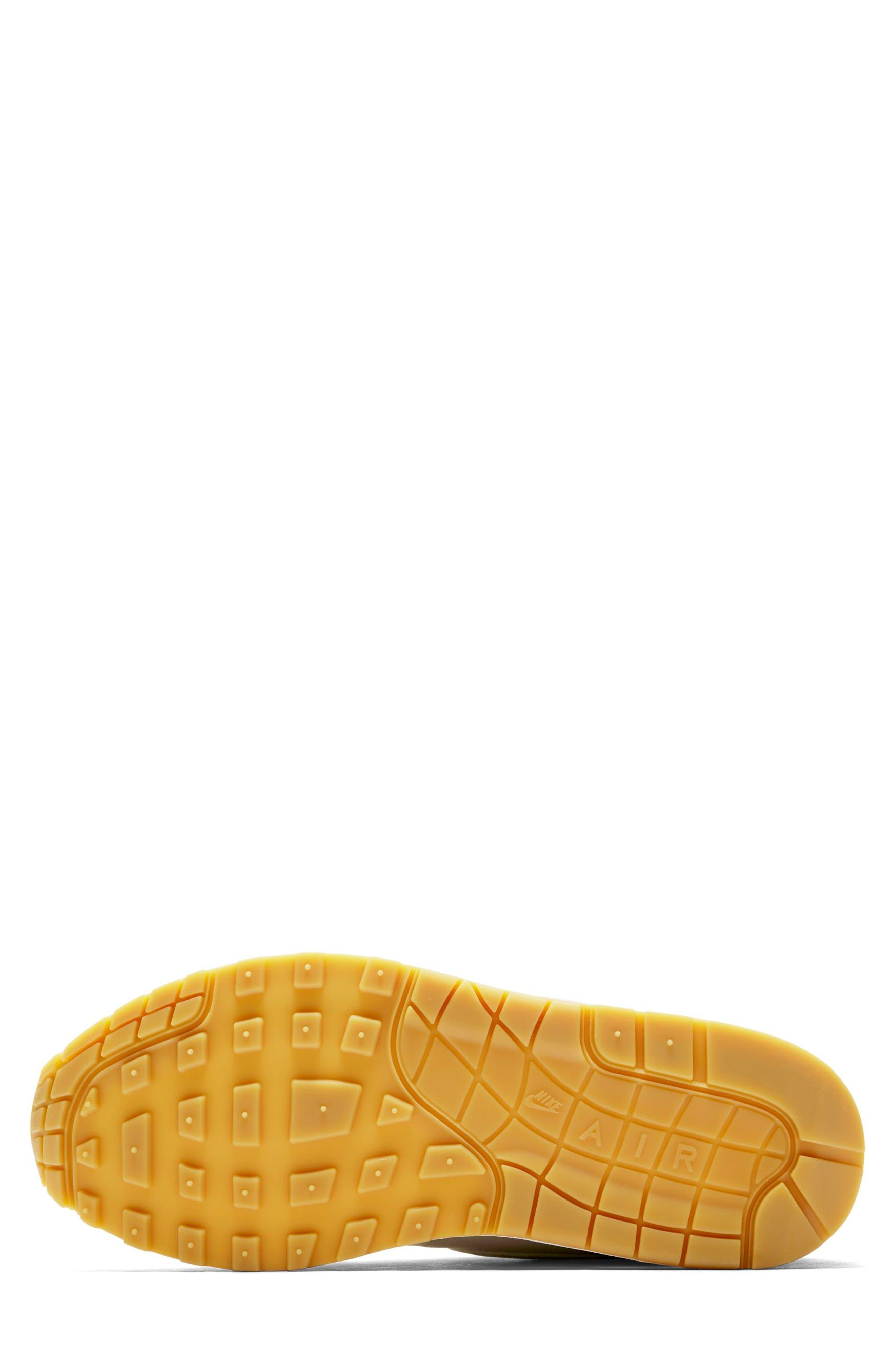 Air Max 1 Sneaker,                             Alternate thumbnail 5, color,                             DESERT SAND