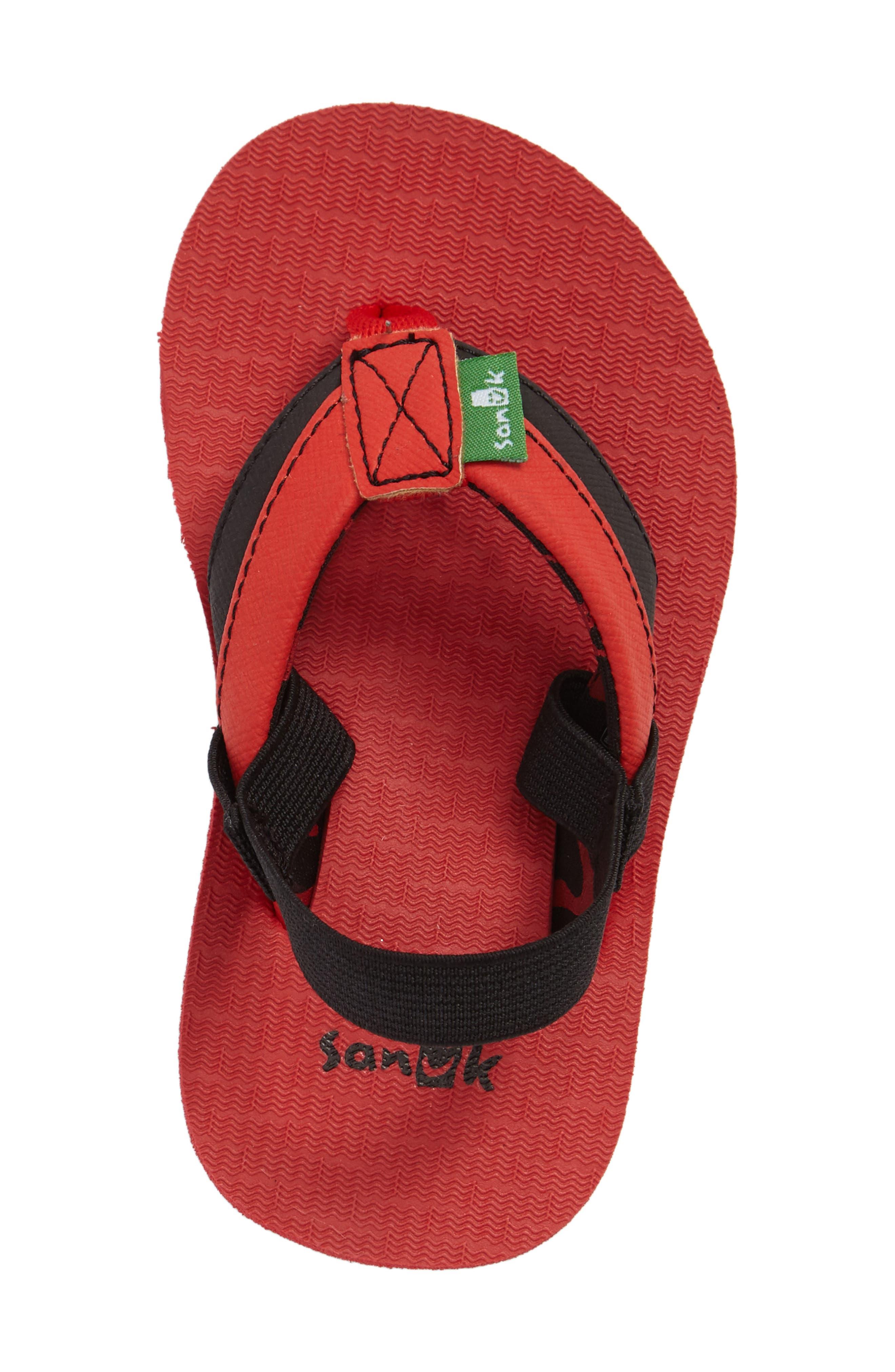 'Rootbeer Cozy' Lightweight Flip Flop Sandal,                             Alternate thumbnail 17, color,