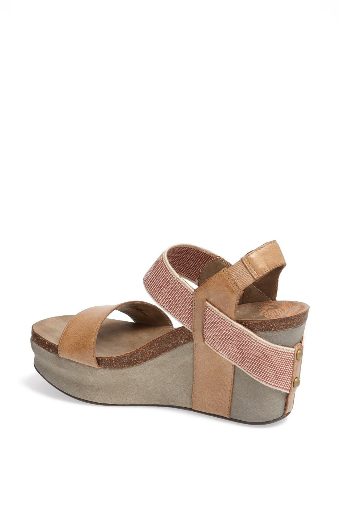 'Bushnell' Wedge Sandal,                             Alternate thumbnail 48, color,