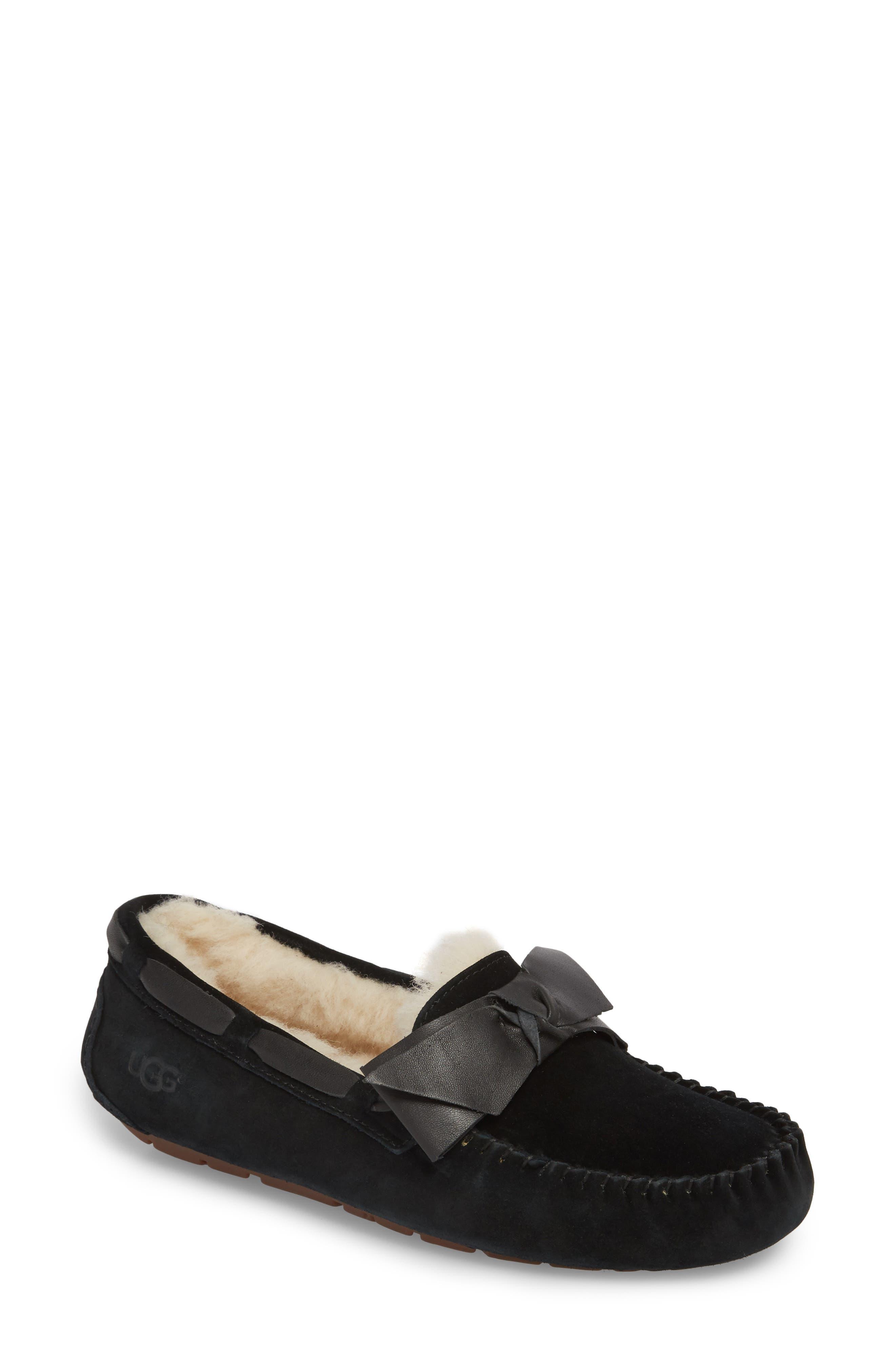 Ugg Dakota Bow Slipper, Black