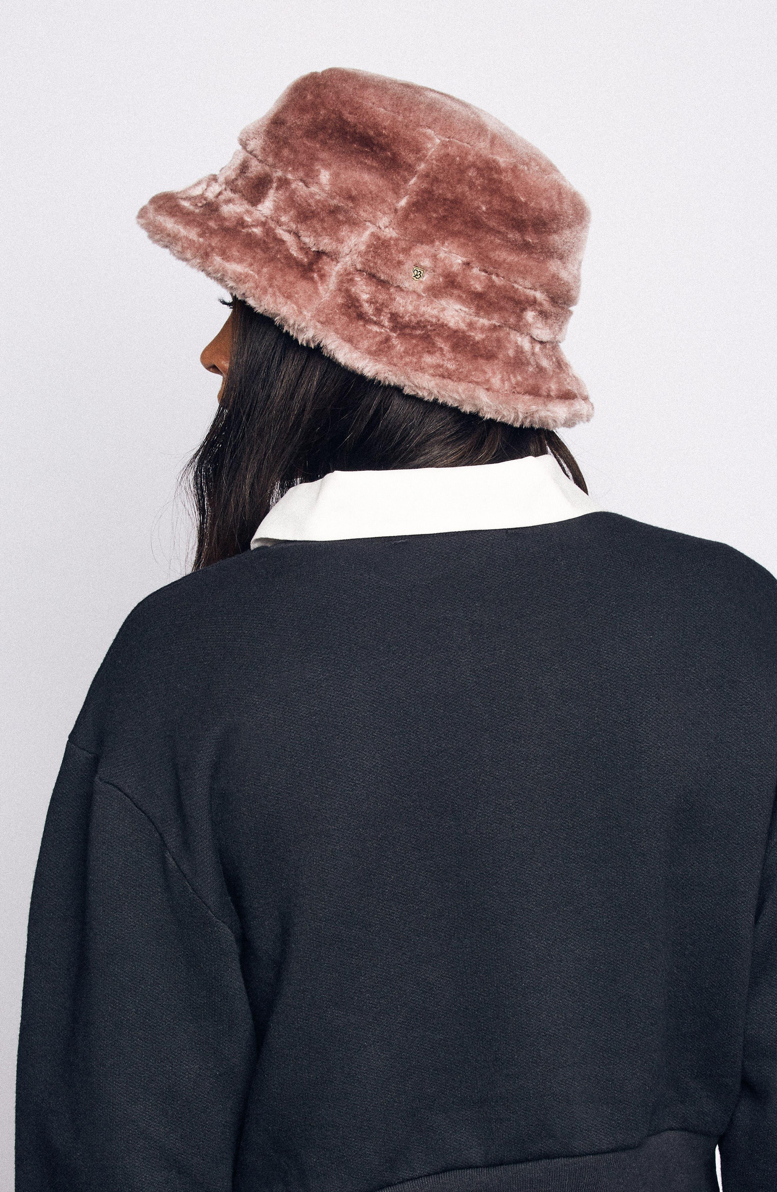 Hardy Bucket Hat,                             Alternate thumbnail 3, color,                             VIOLET