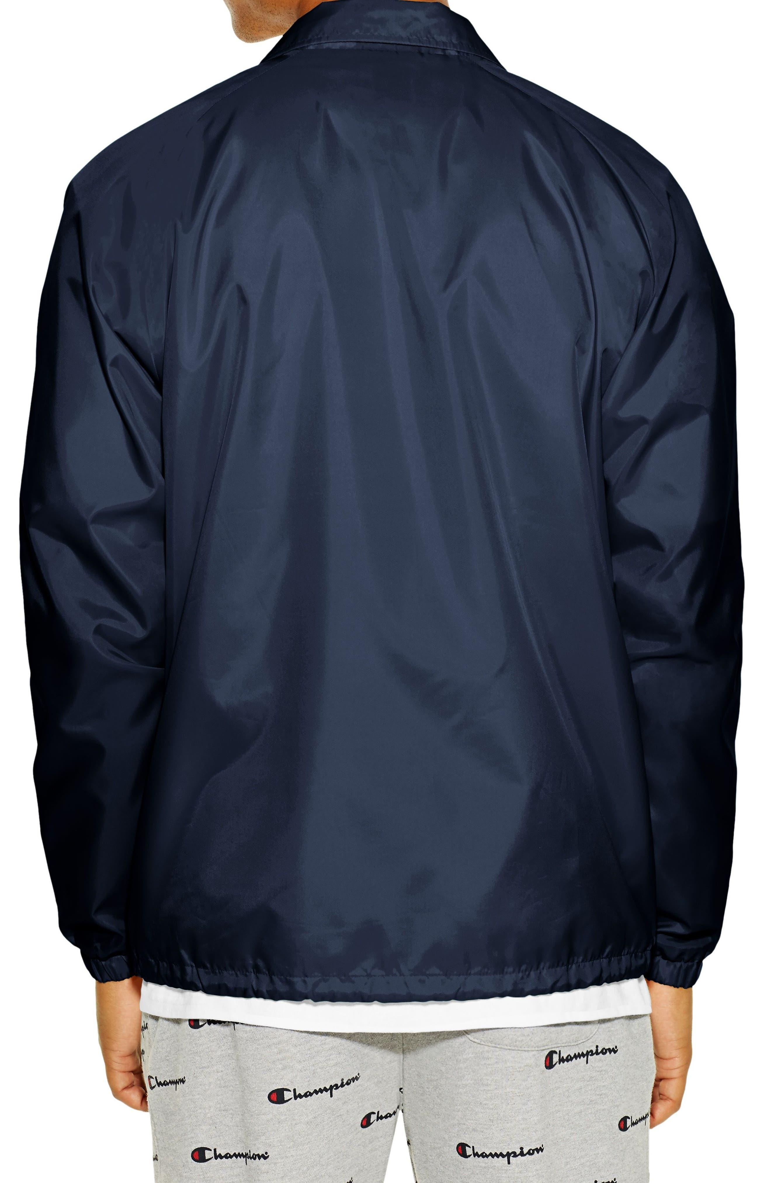 Coaches Jacket,                             Alternate thumbnail 2, color,                             NAVY
